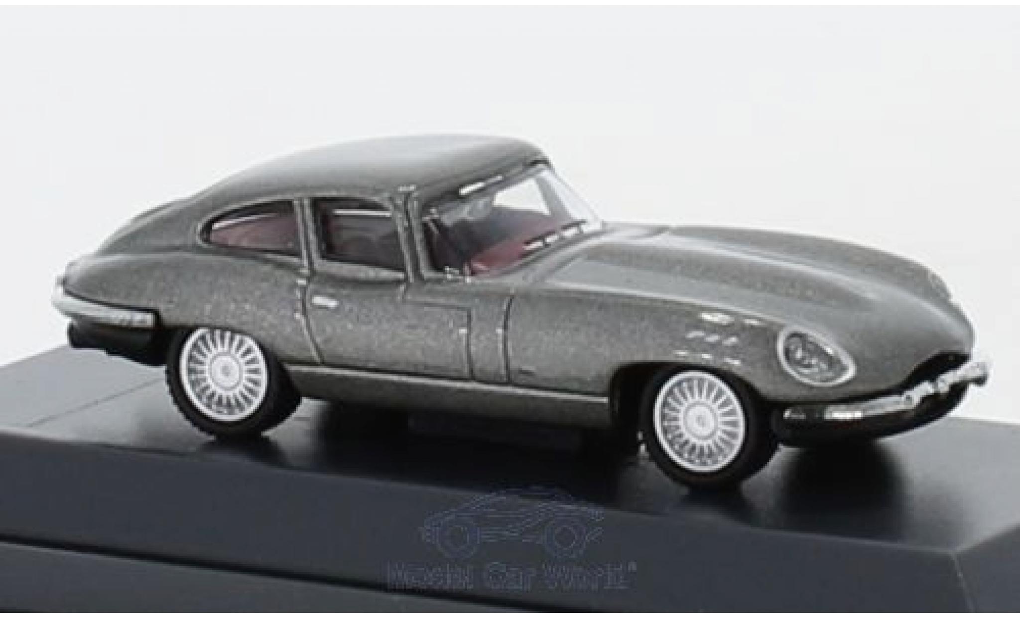 Jaguar E-Type 1/87 Schuco Coupe grise