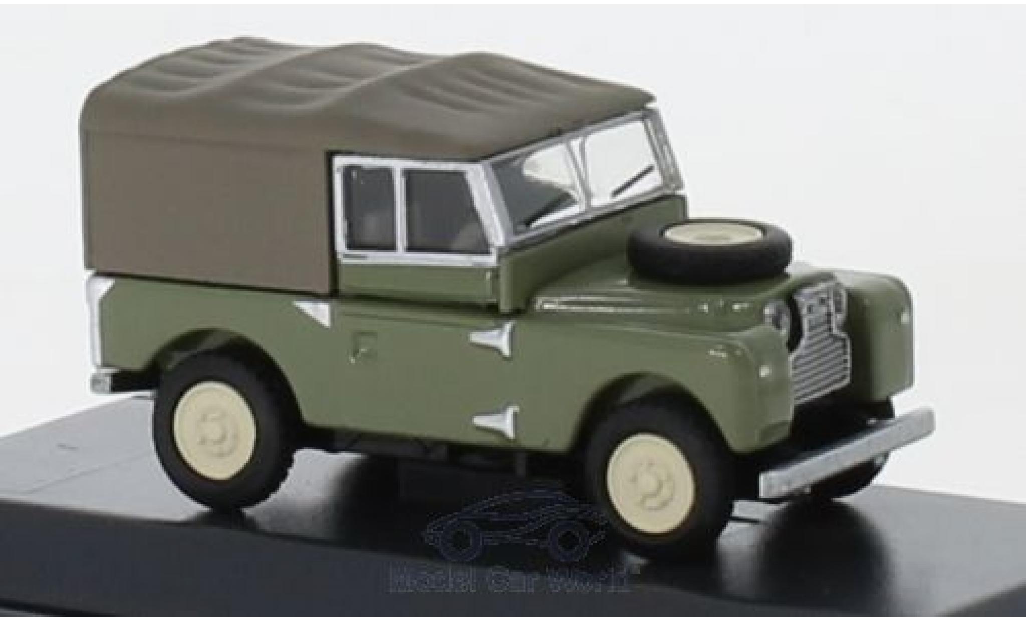 Land Rover 88 1/87 Schuco verte