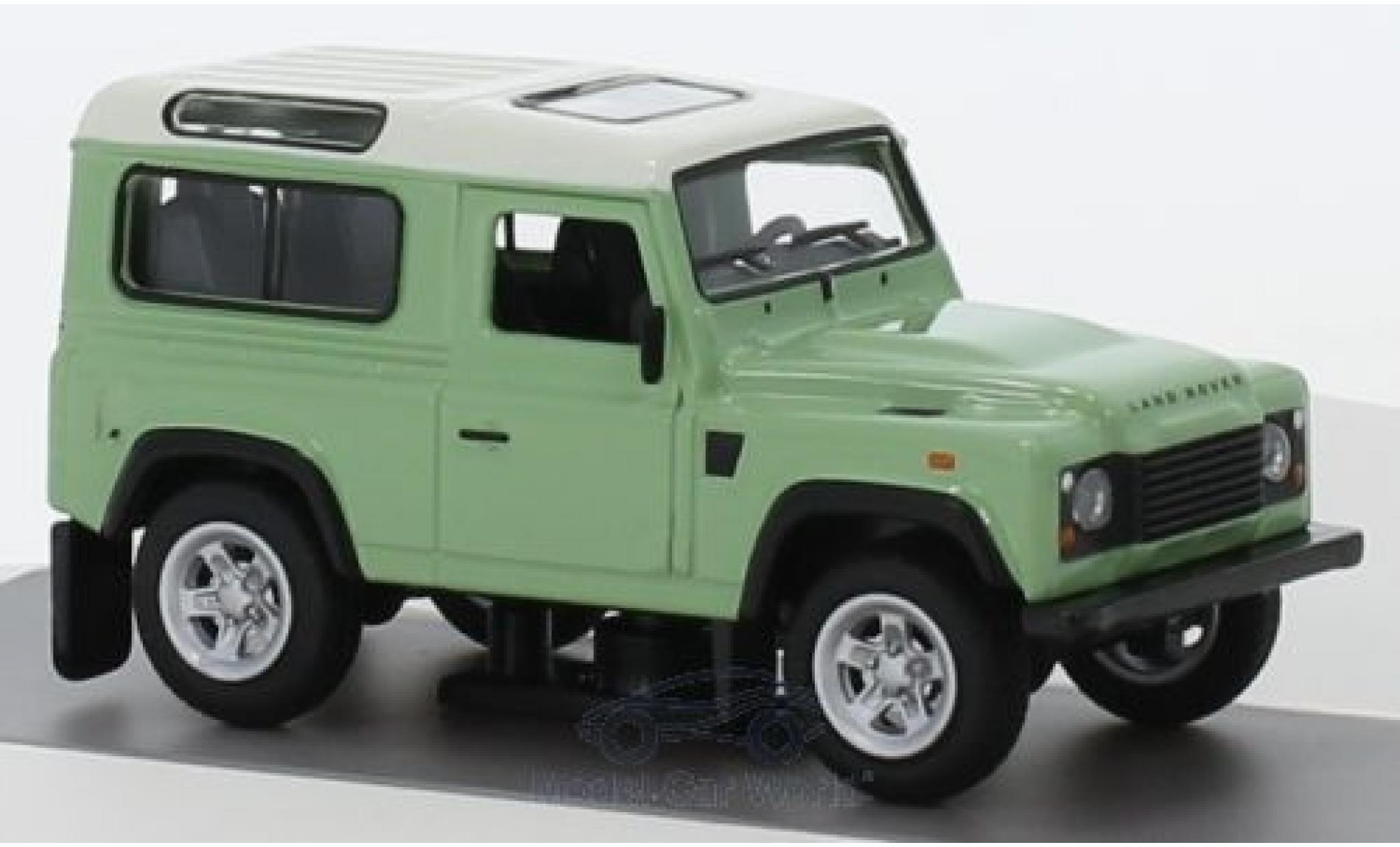Land Rover Defender 1/64 Schuco grün/weiss