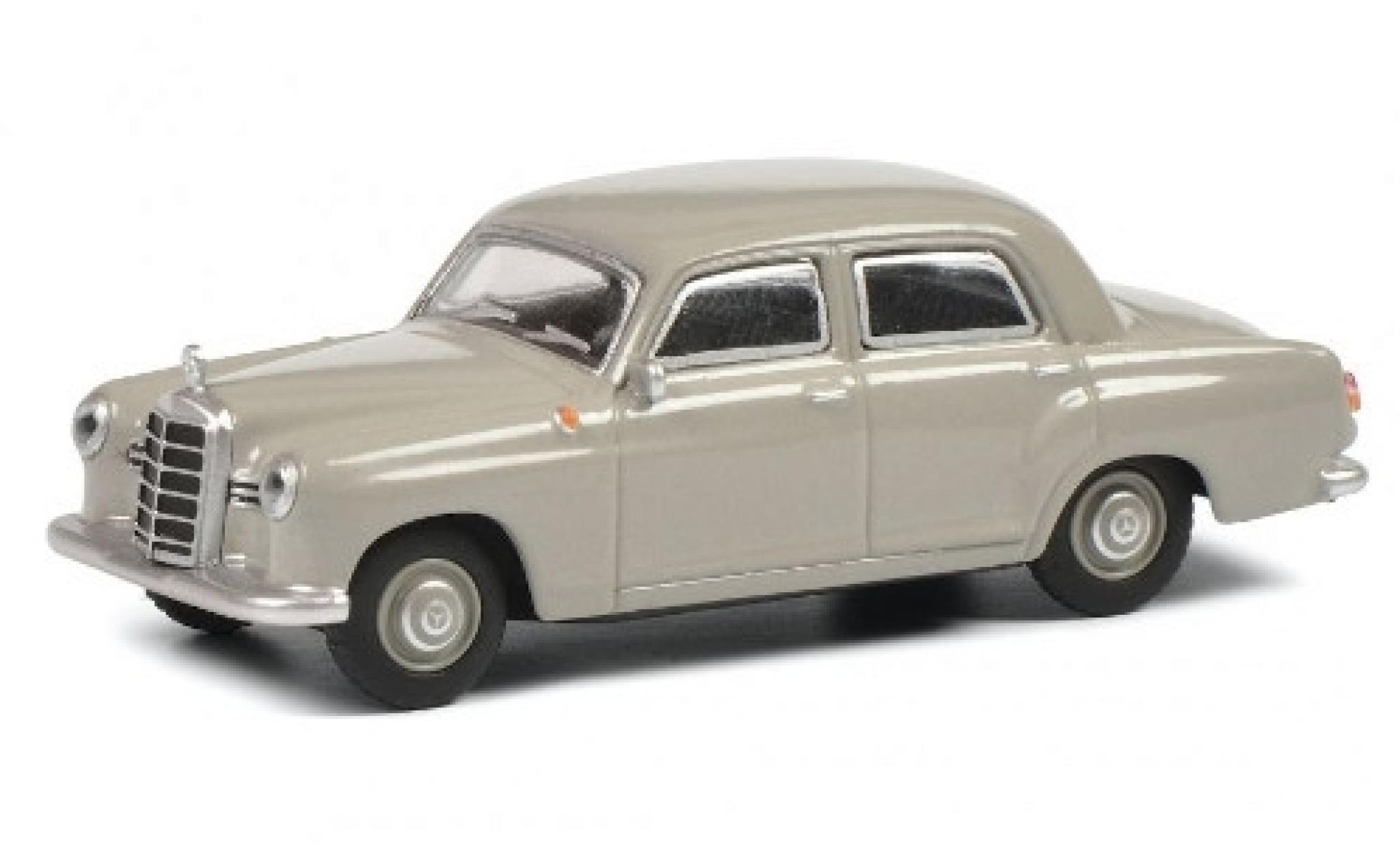 Mercedes 180 1/64 Schuco D (W120) grey Ponton
