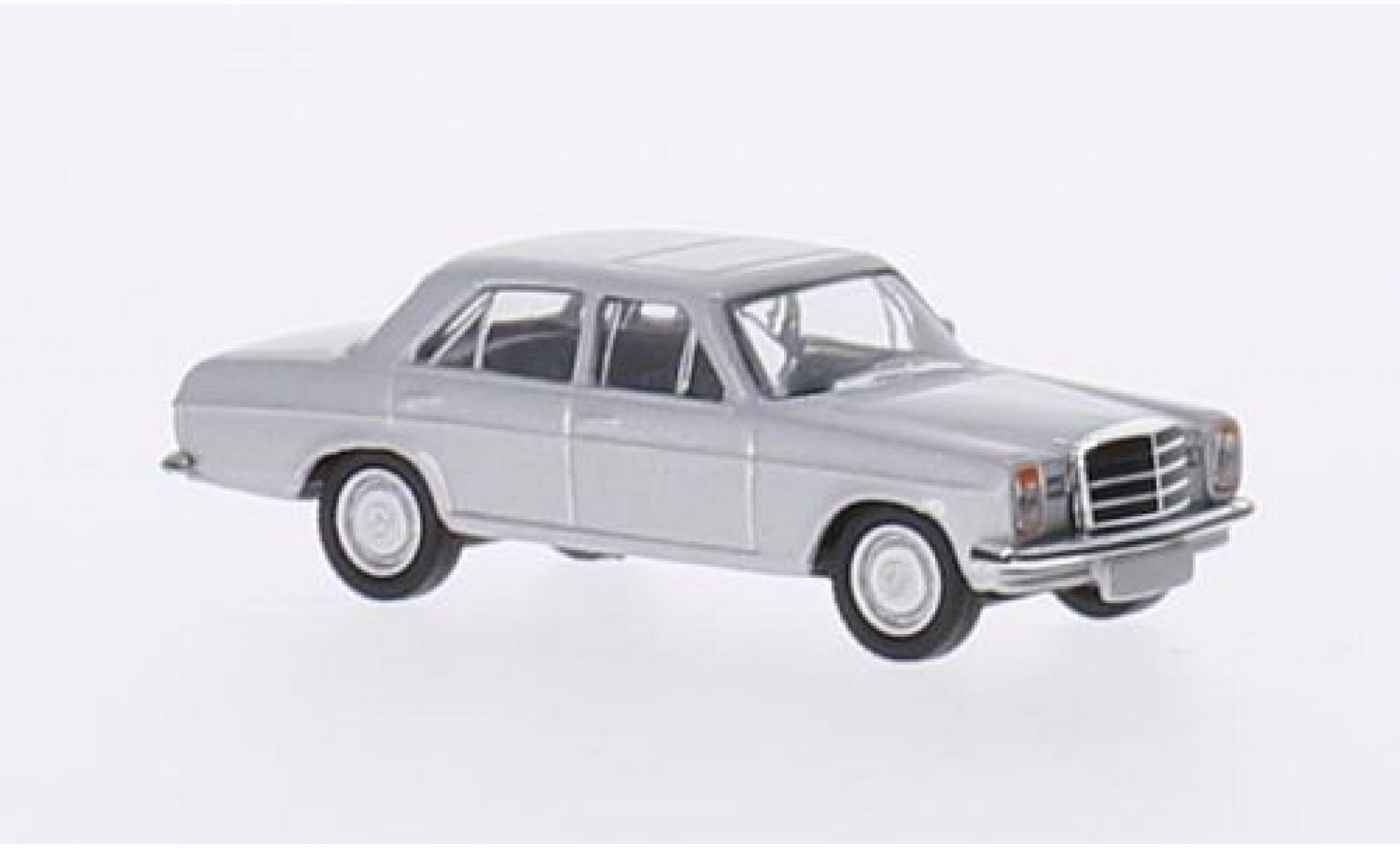 Mercedes 200 1/87 Schuco (W115) grise Strichacht (/8)
