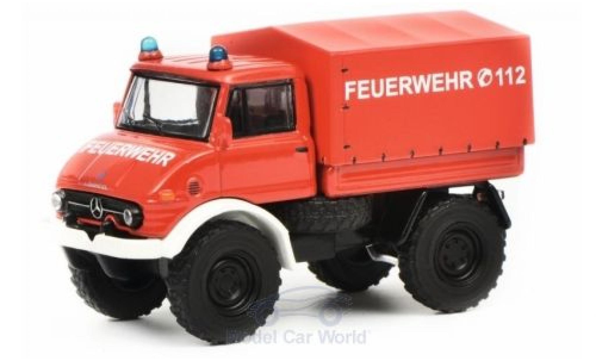 Mercedes Unimog 1/64 Schuco U406 Feuerwehr