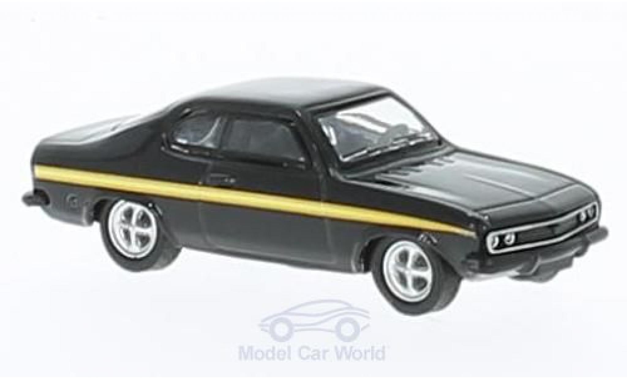 Opel Manta B 1/87 Schuco A noire/Dekor lack Magic