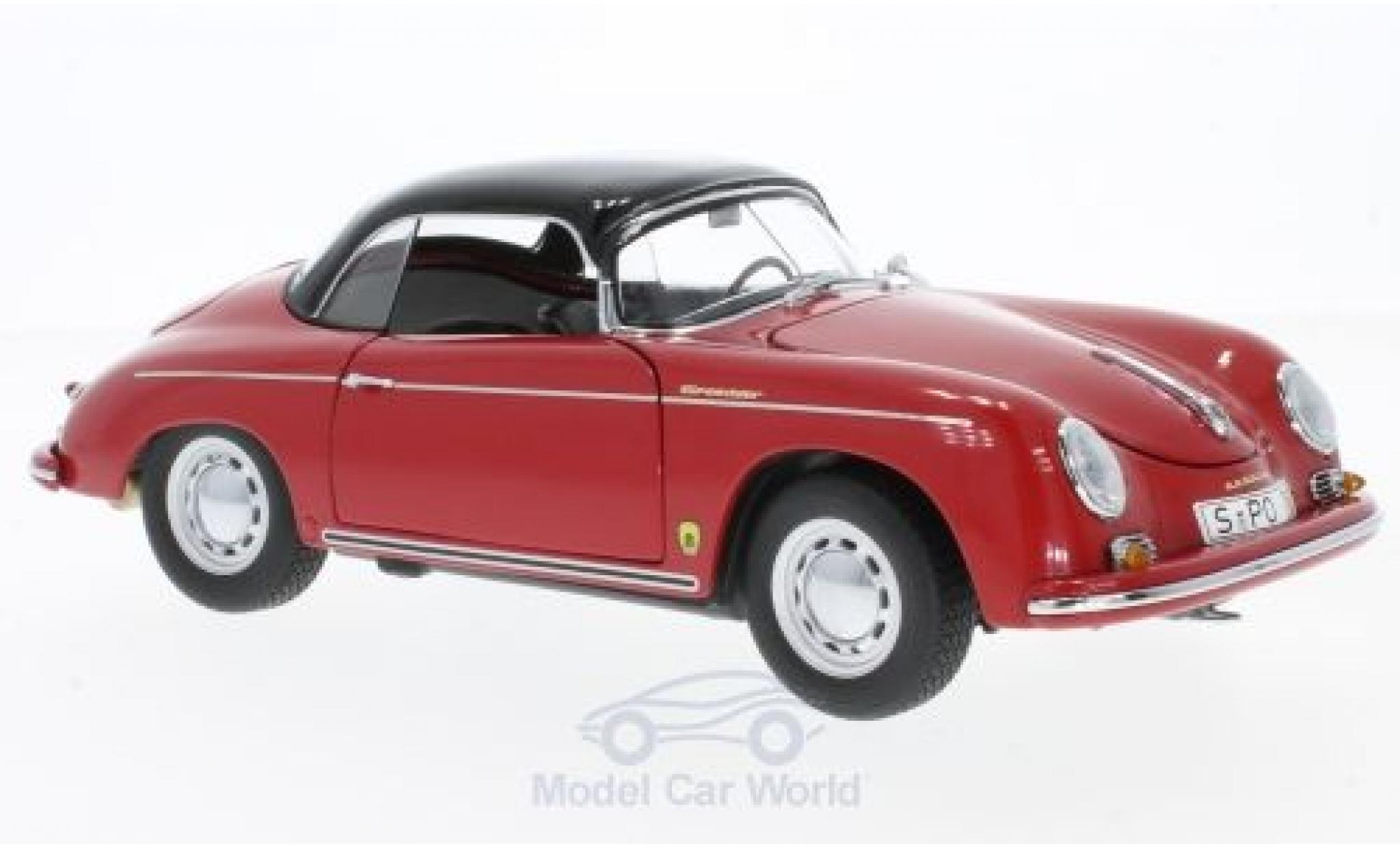 Porsche 356 A 1/18 Schuco Carrera Speedster red/black Edition 70 Jahre