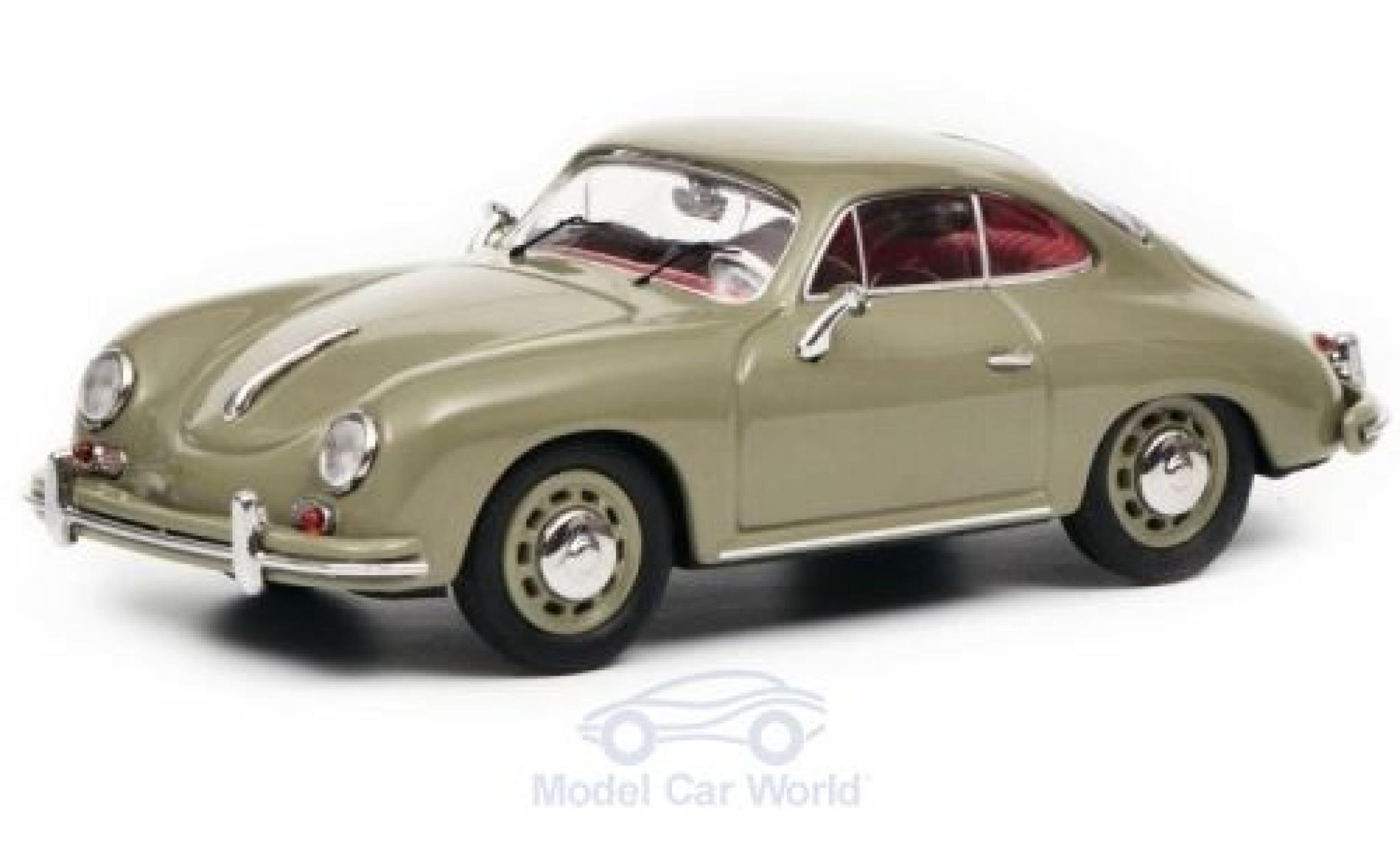 Porsche 356 1/43 Schuco A Coupe grau