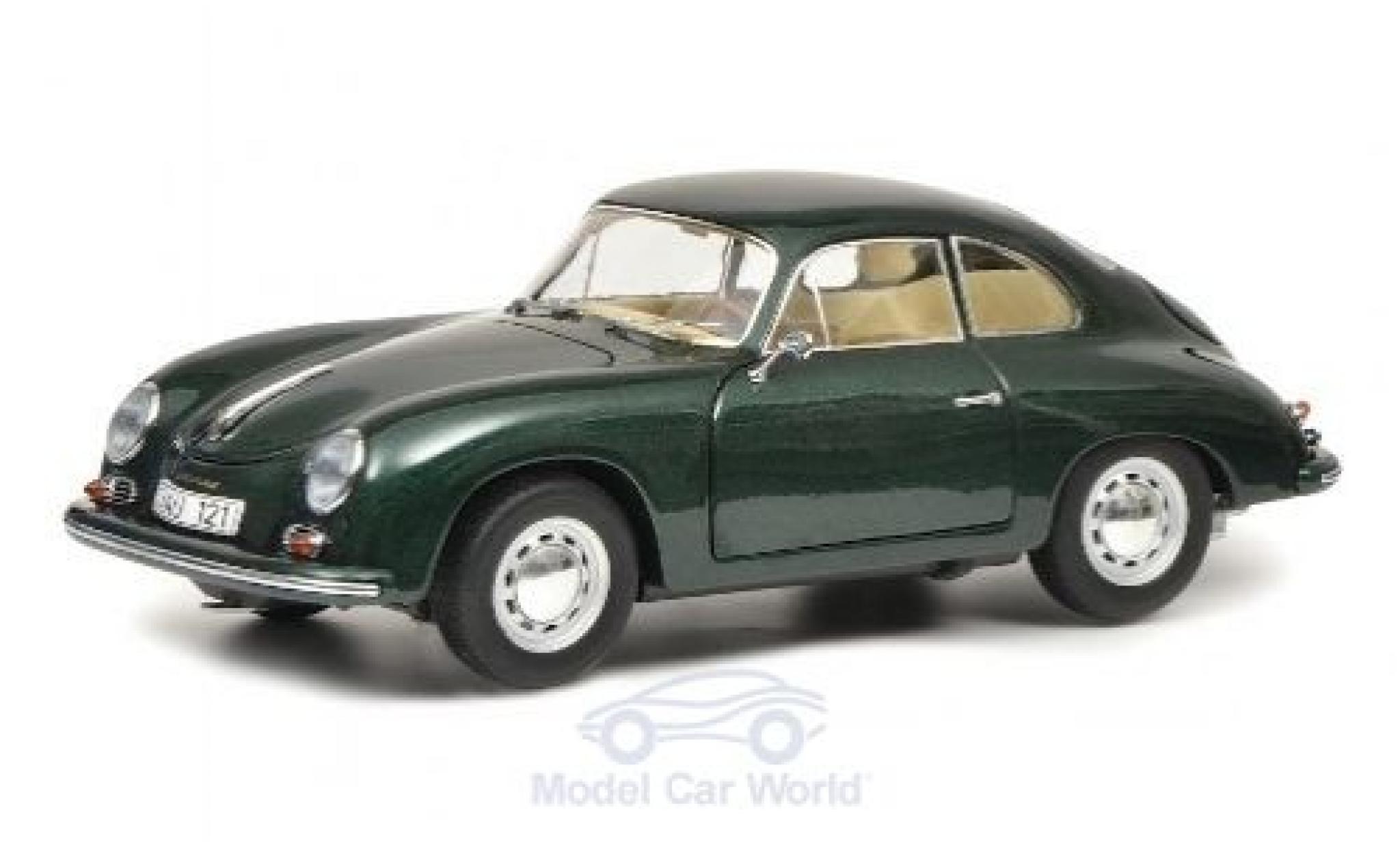 Porsche 356 1/18 Schuco A verte