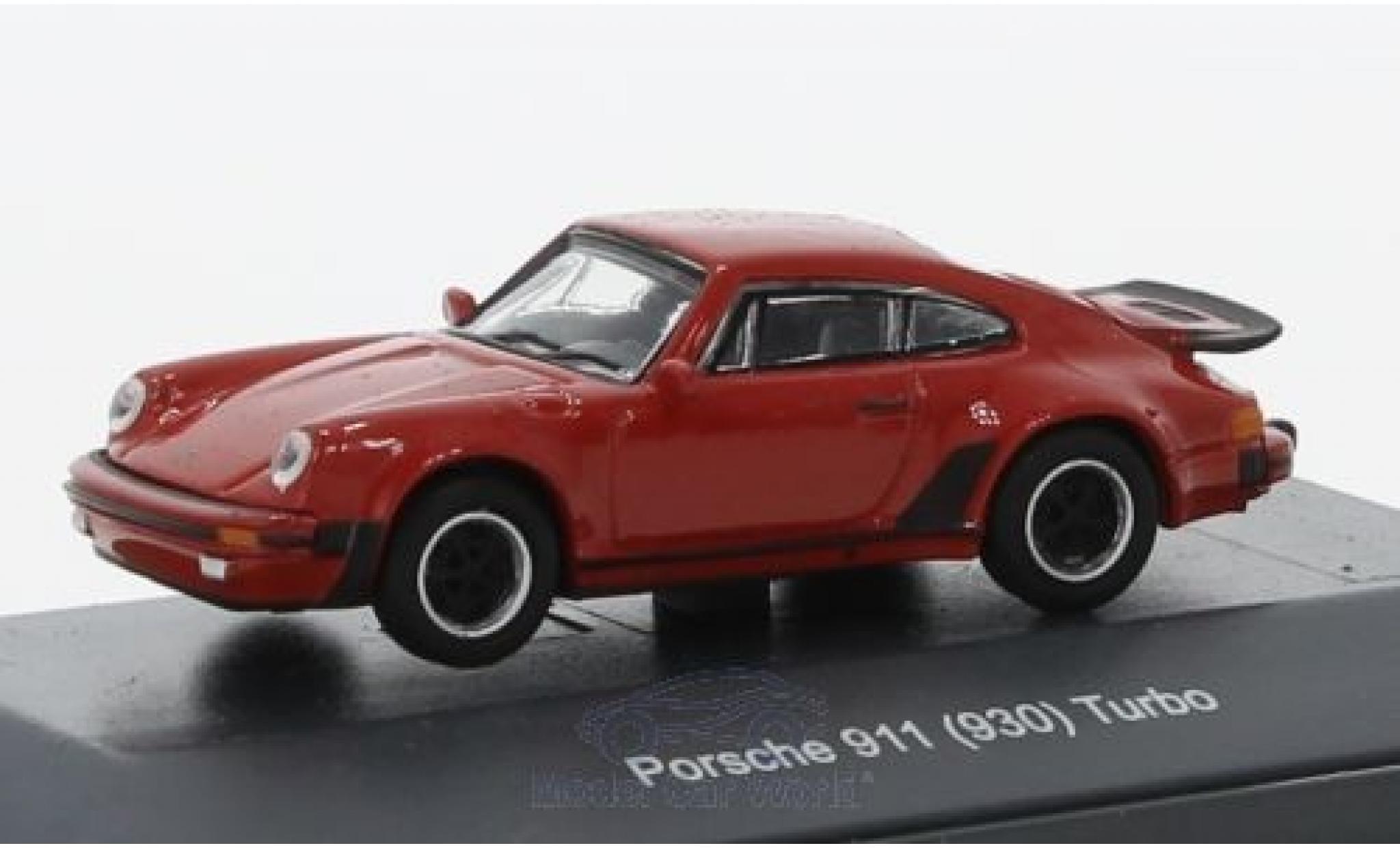 Porsche 930 Turbo 1/87 Schuco 911  red