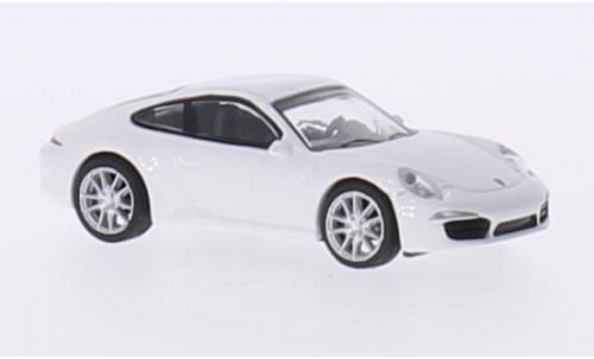 Porsche 991 S 1/87 Schuco 911  Carrera blanche