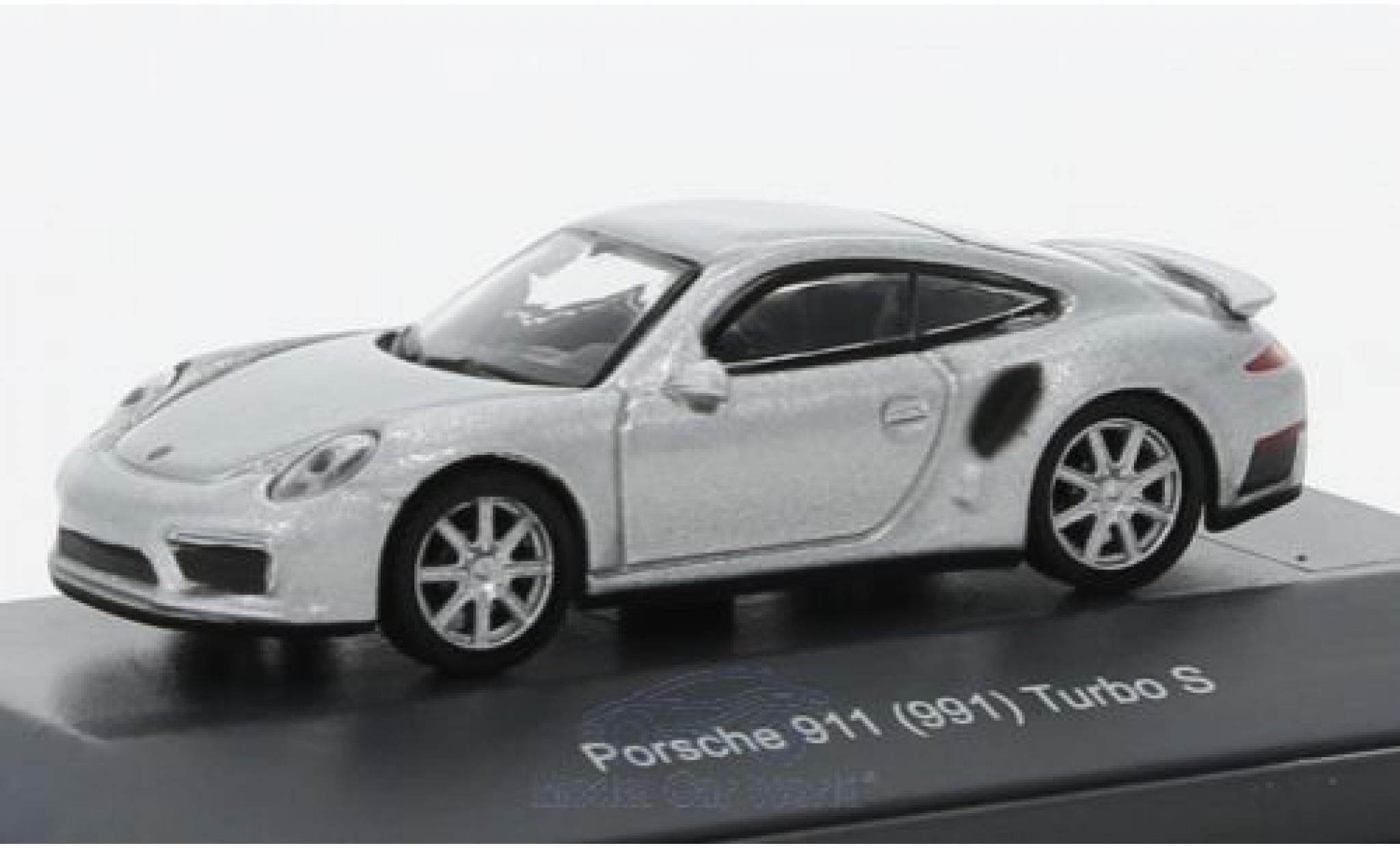 Porsche 991 Turbo 1/87 Schuco (991) Turbo S grey