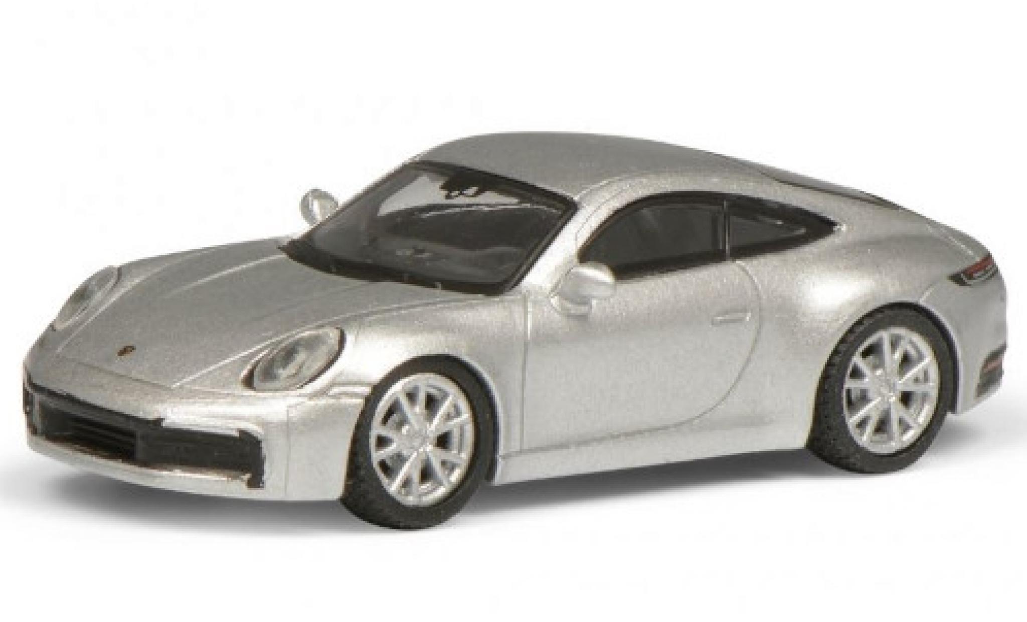 Porsche 992 S 1/87 Schuco 911 Carrera  grey