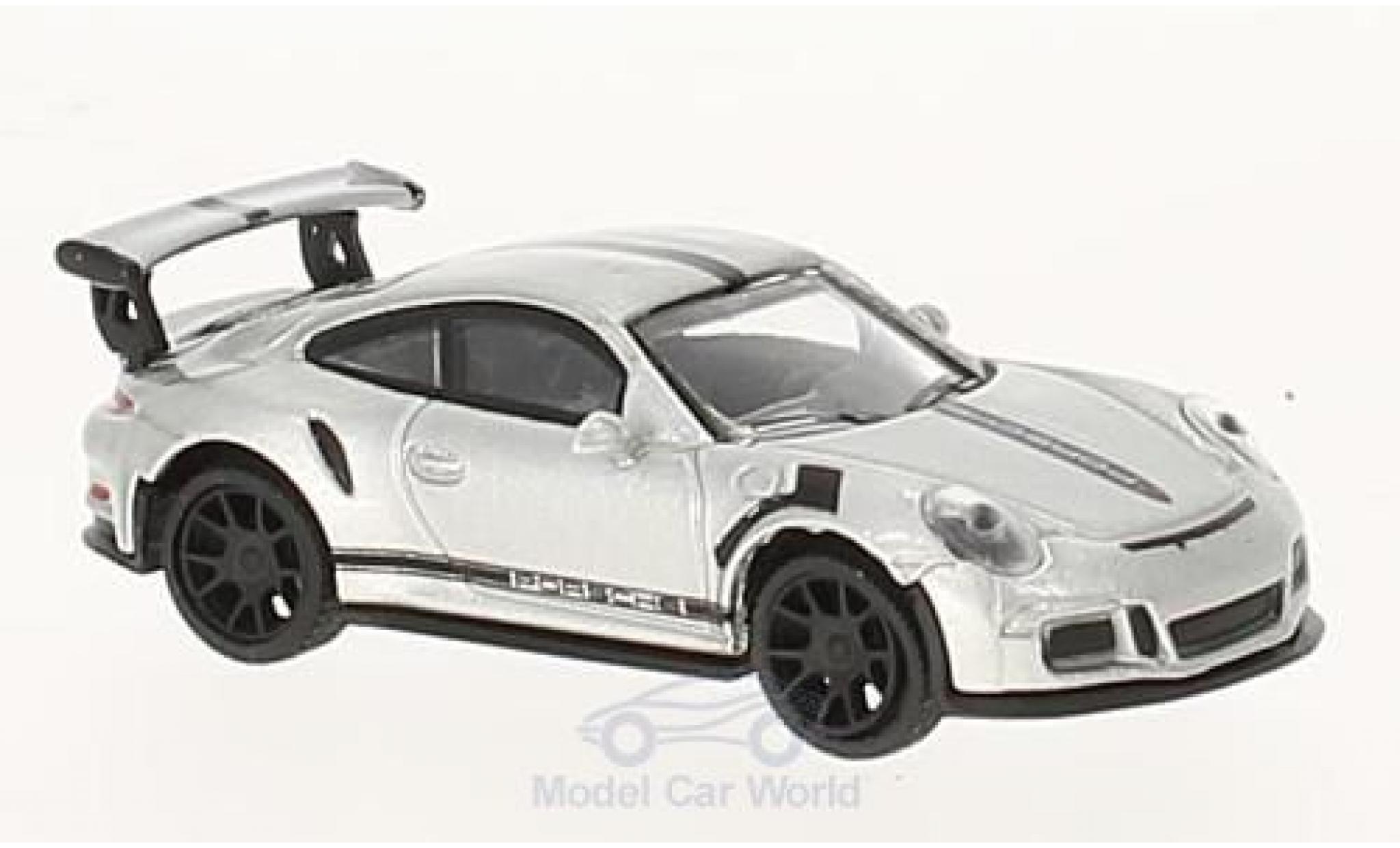 Porsche 911 SC 1/87 Schuco GT3 RS grise