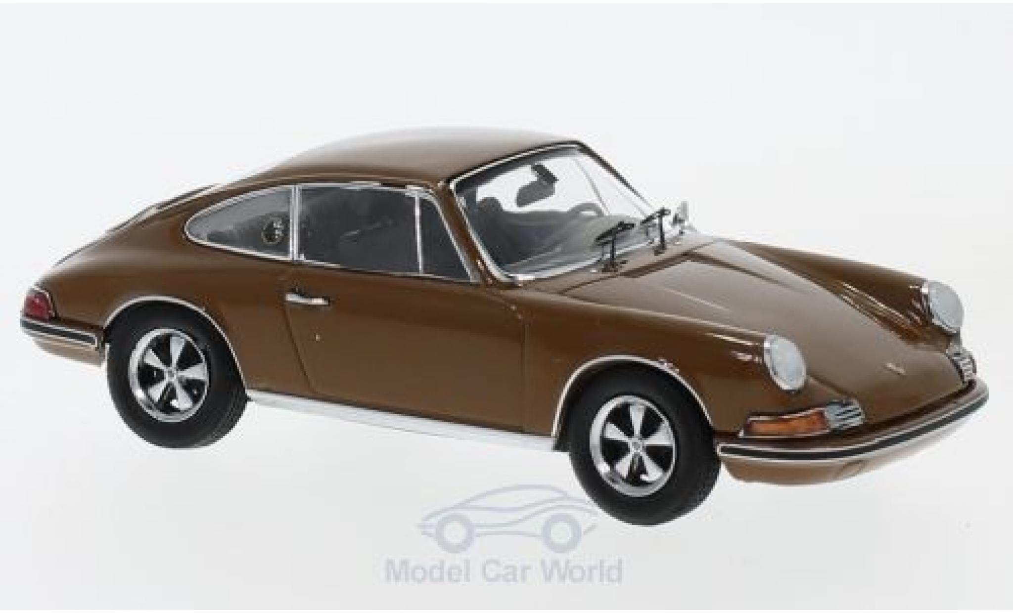 Porsche 911 SC 1/43 Schuco S marrone