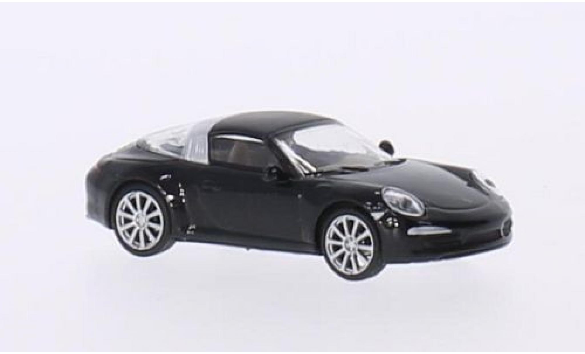 Porsche 991 Targa 1/87 Schuco 911 4S  metallise black