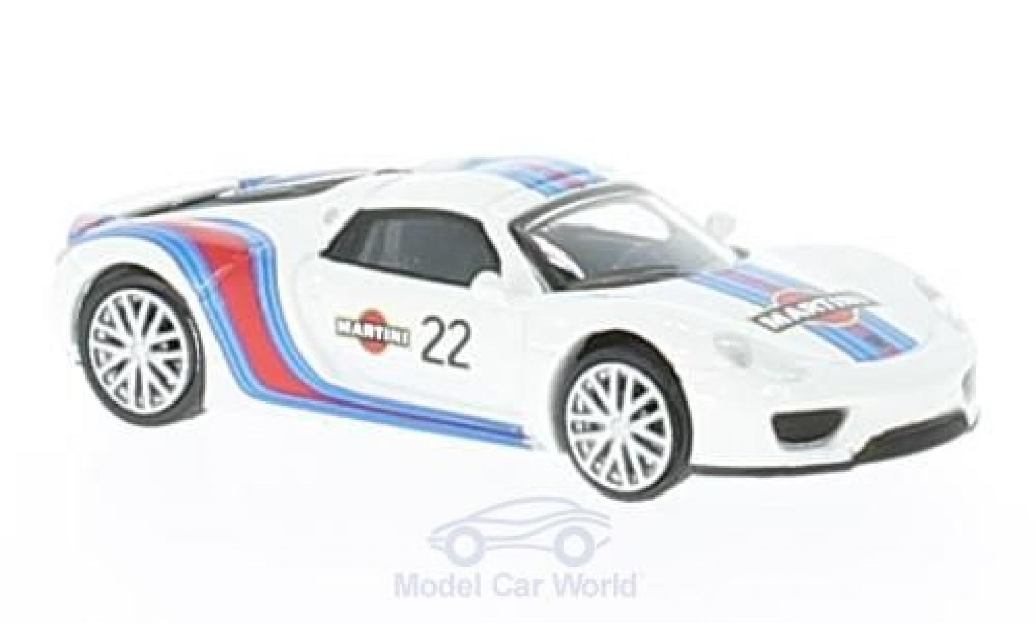Porsche 918 1/87 Schuco Spyder No.22 Martini