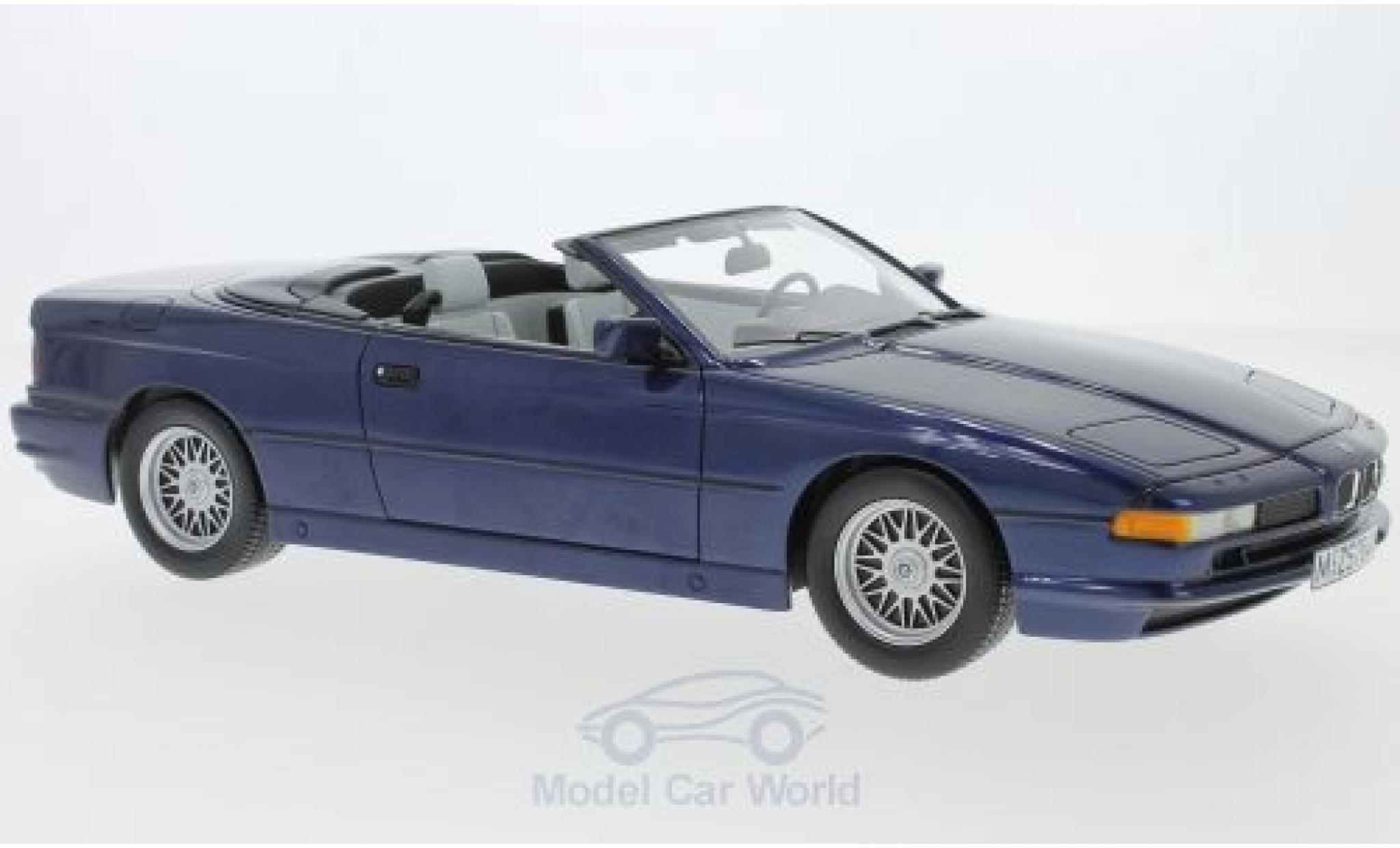 Bmw 850 1/18 Schuco ProR BMW i Cabriolet metallic-dunkelbleue