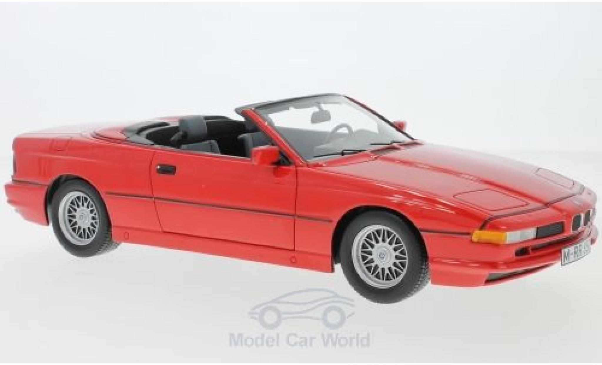 Bmw 850 1/18 Schuco ProR i Cabriolet rouge