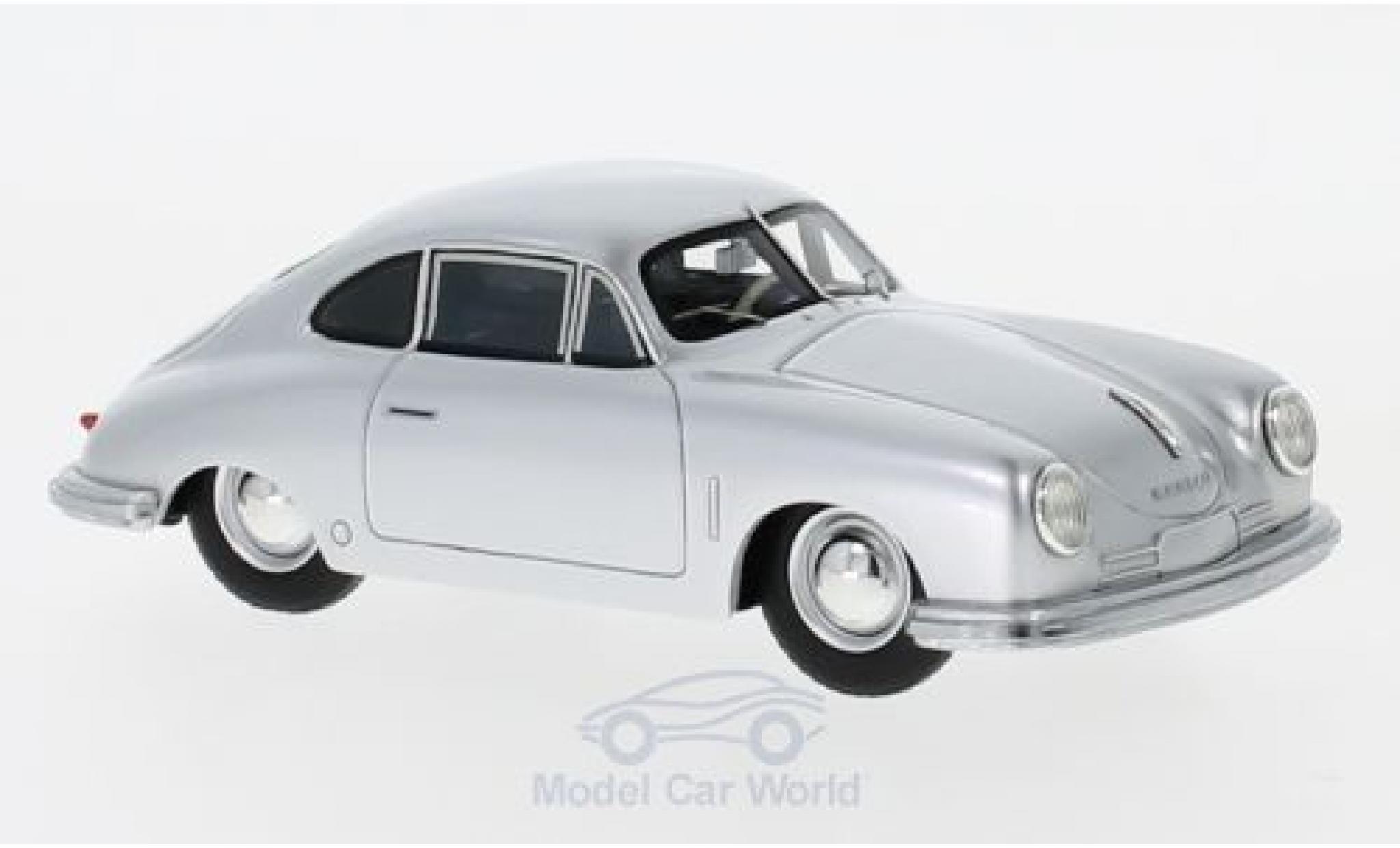 Porsche 356 A 1/43 Schuco ProR Gmünd Coupe grise 1949