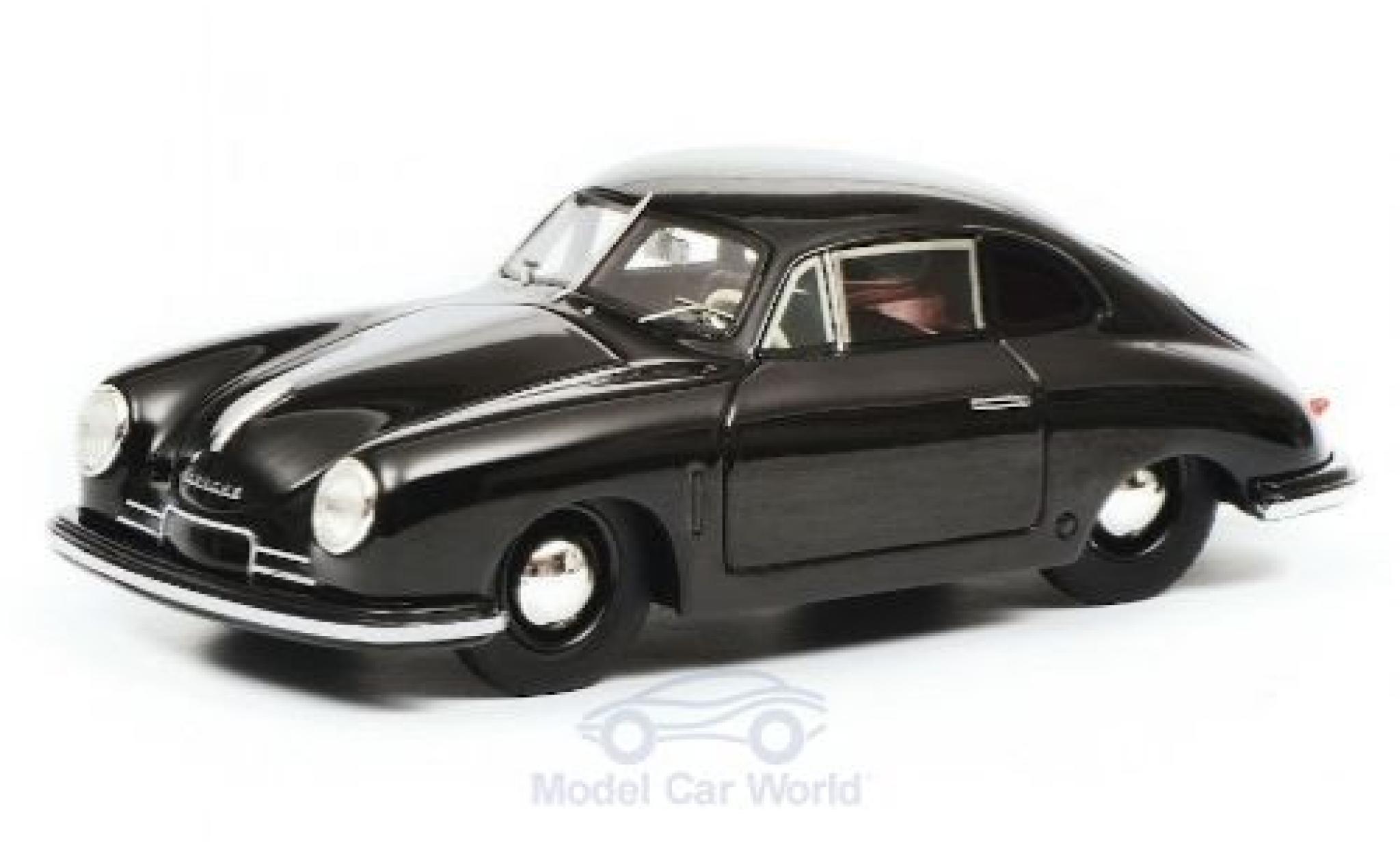 Porsche 356 1/18 Schuco ProR Gmünd noire