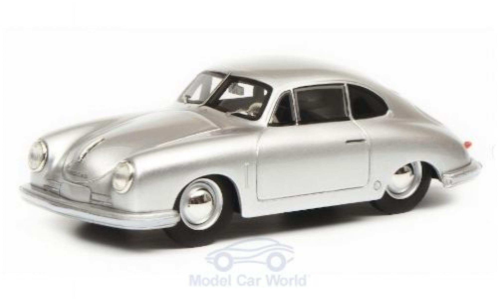Porsche 356 1/18 Schuco ProR Gmünd grise