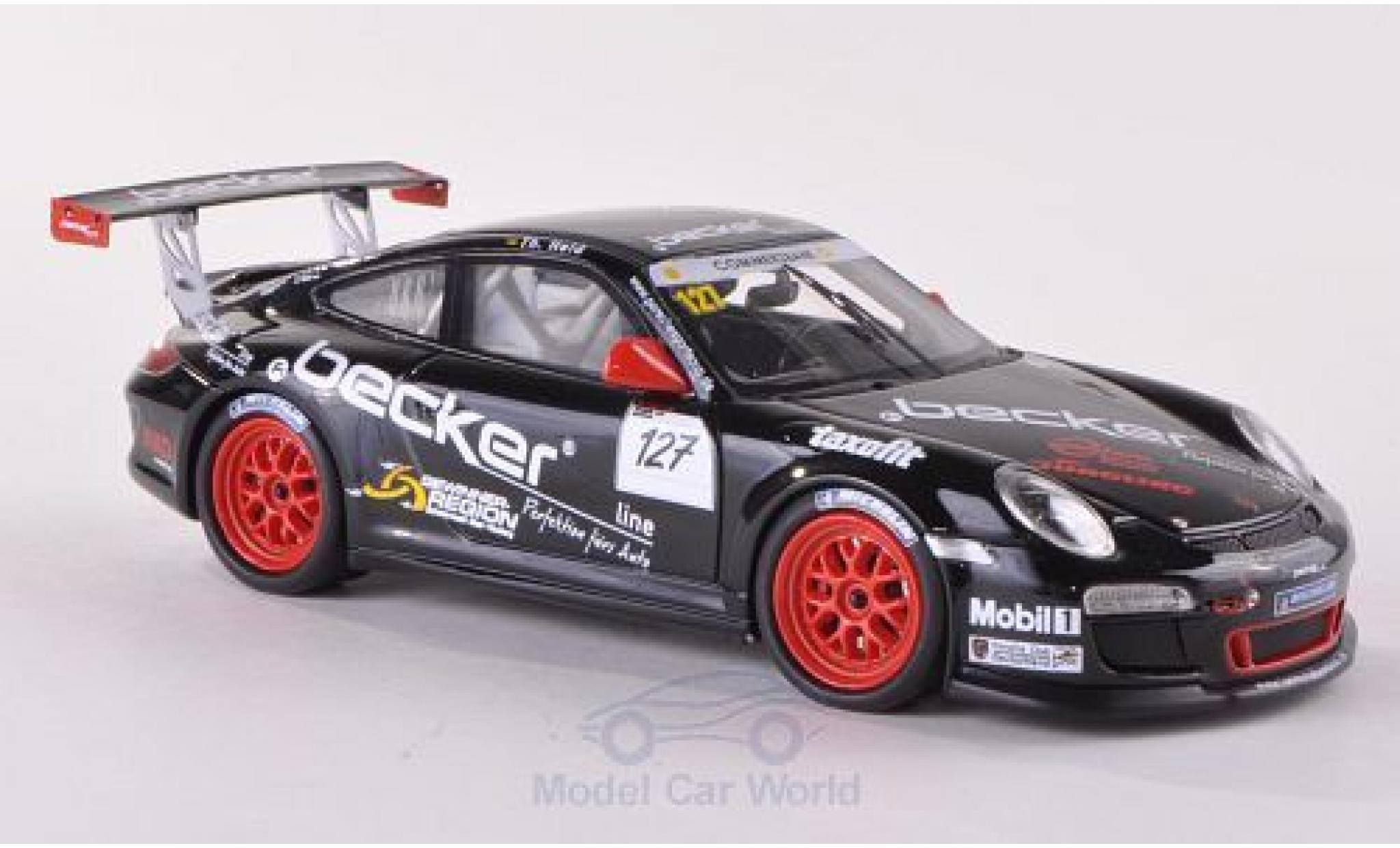 Porsche 997 GT3 CUP 1/43 Schuco ProR 911  GT3 Cup No.127 MS Racing Becker Cup Th.Held
