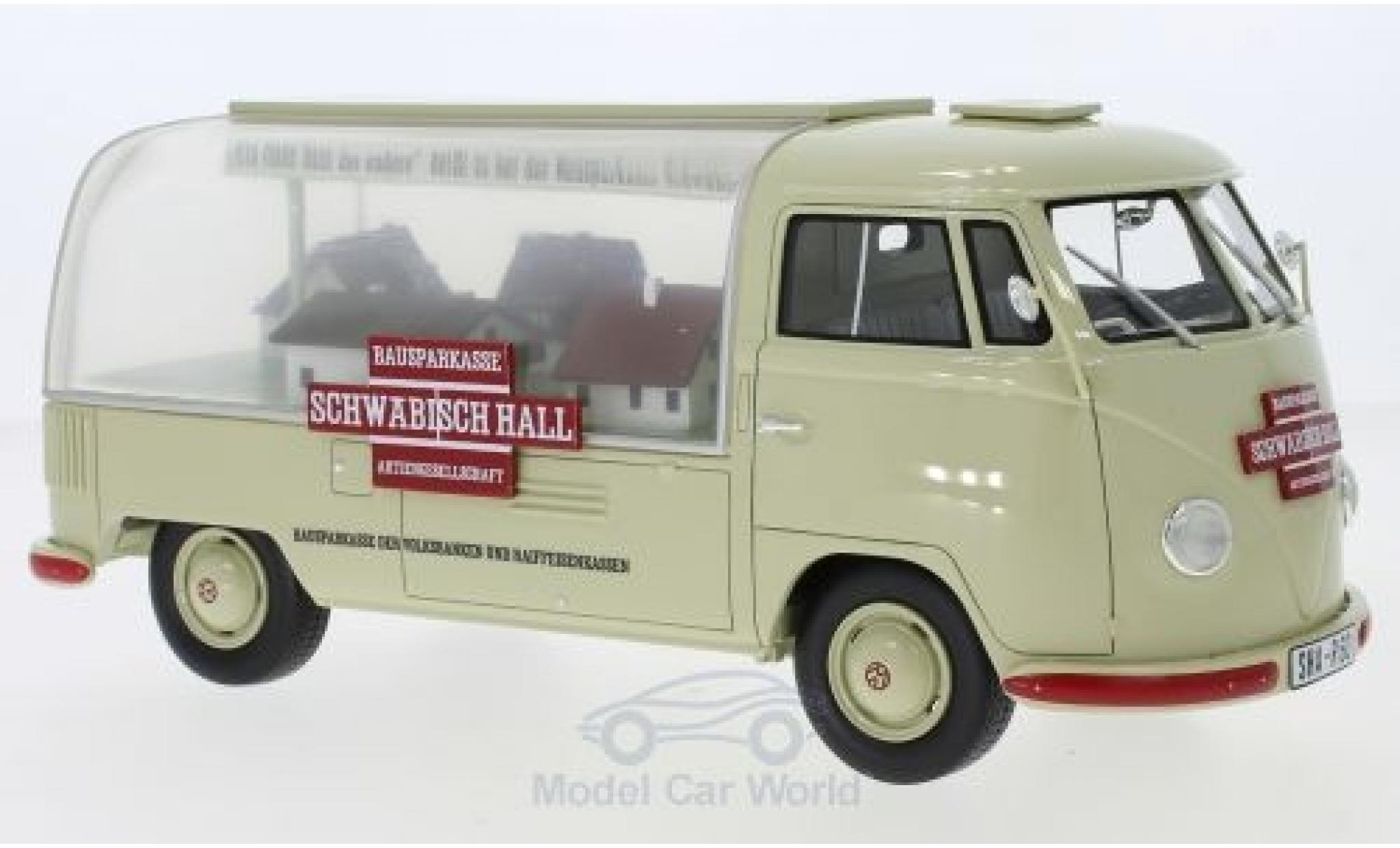Volkswagen T1 1/18 Schuco ProR Schwäbisch Hall