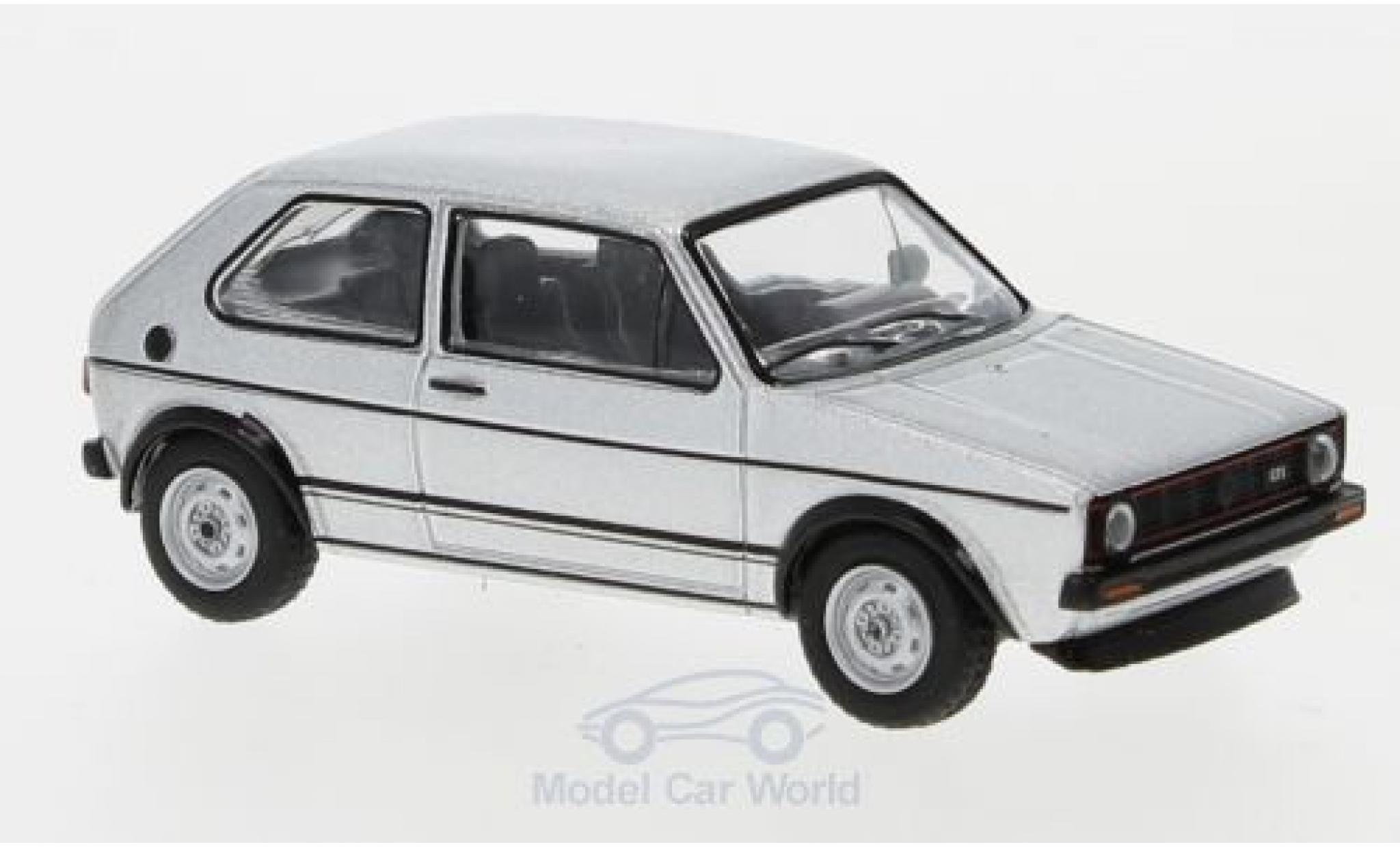 Volkswagen Golf V 1/64 Schuco I GTI grise 1976
