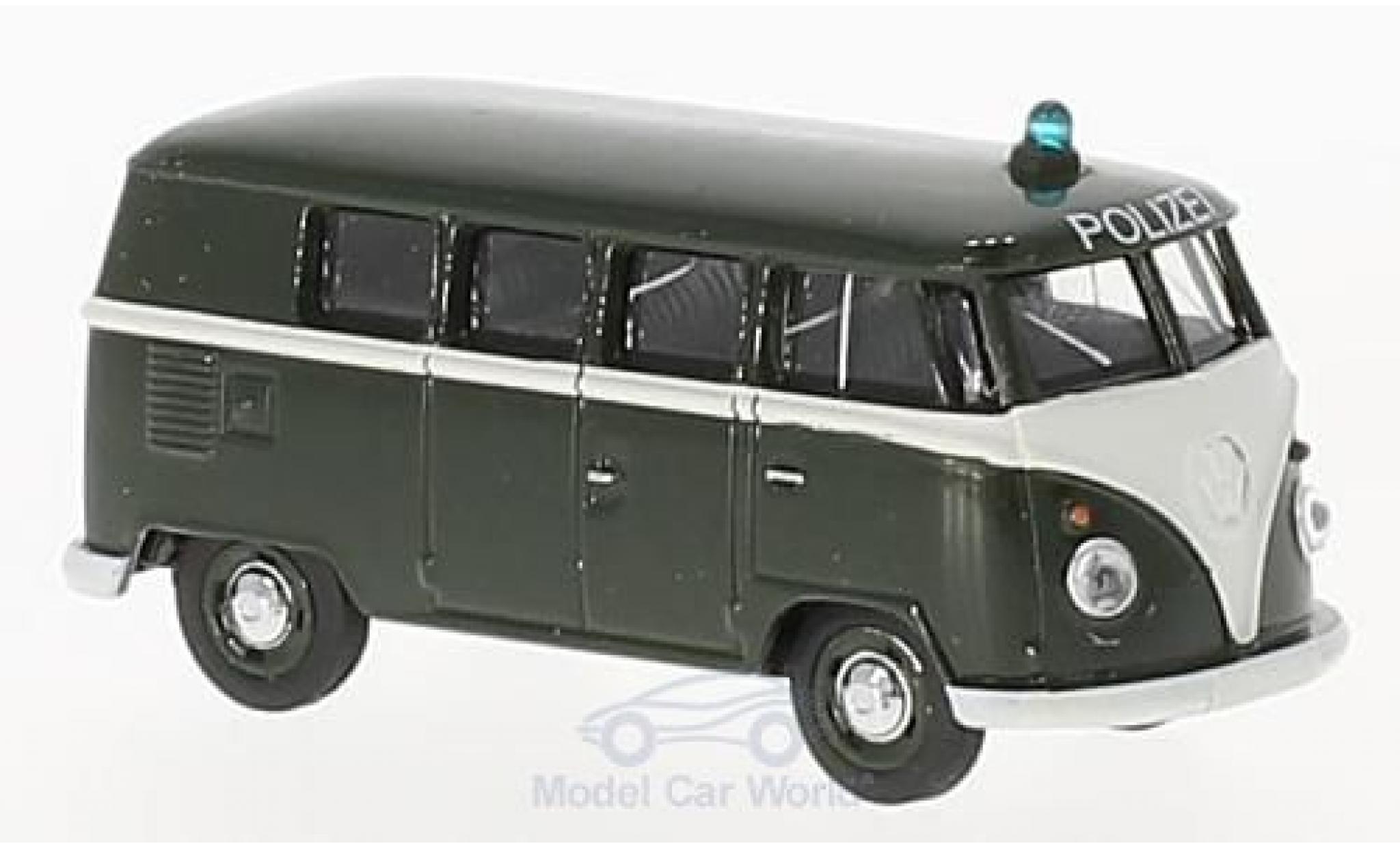 Volkswagen T1 B 1/64 Schuco us Polizei