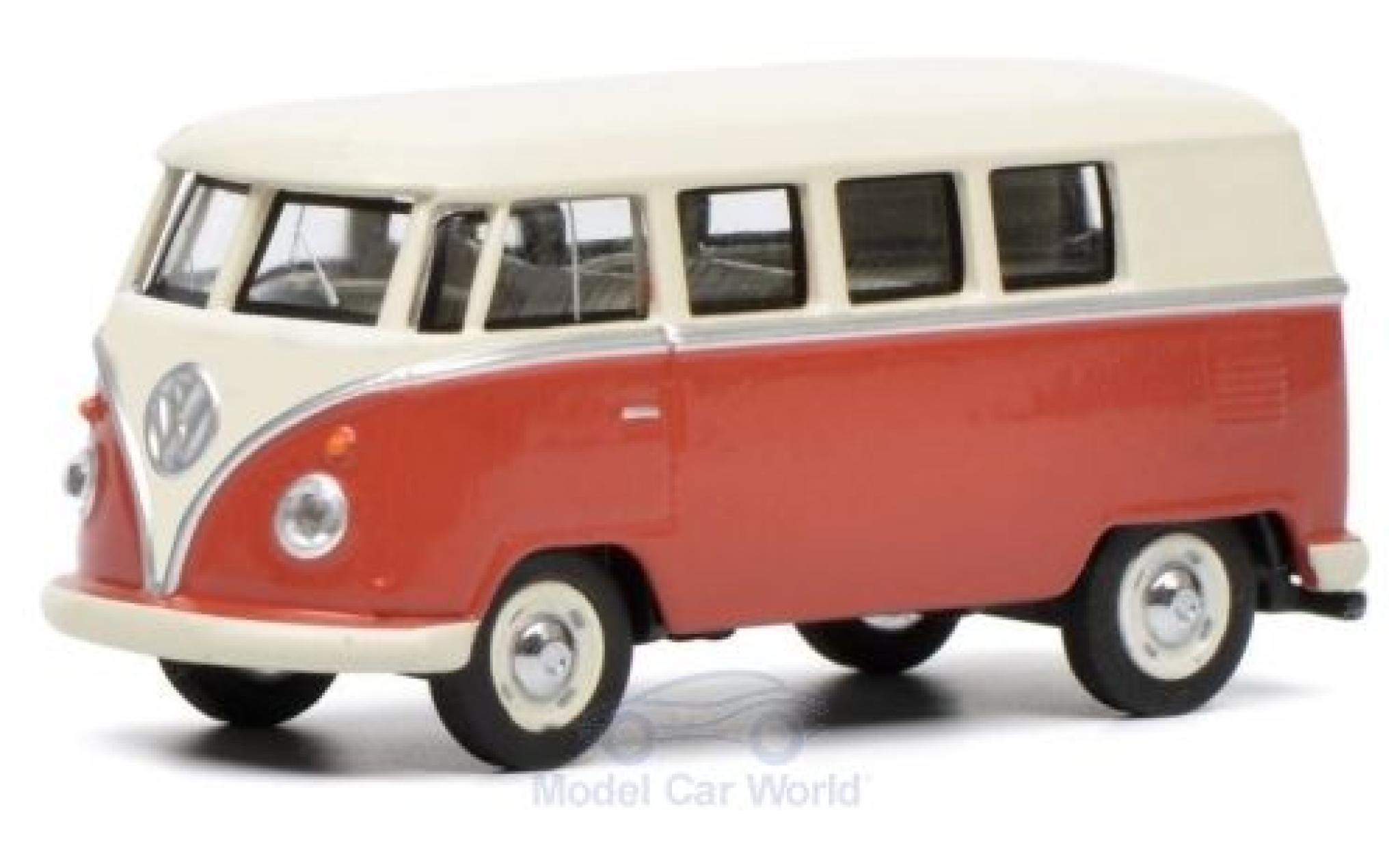 Volkswagen T1 1/64 Schuco Bus rosso/beige