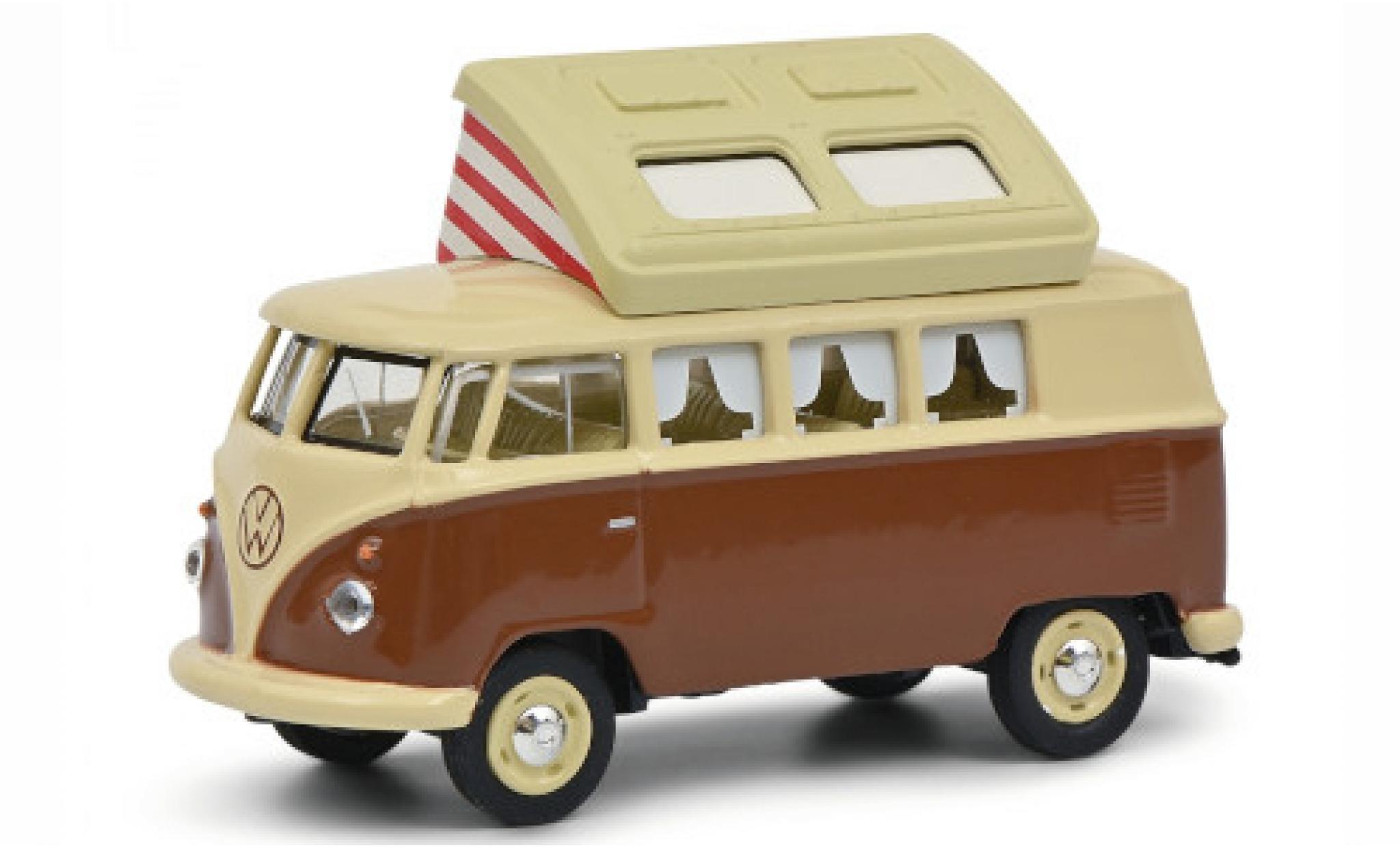 Volkswagen T1 1/64 Schuco Camper beige/brown