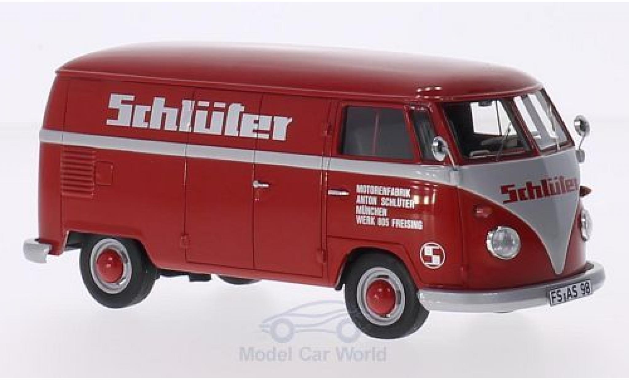 Volkswagen T1 A 1/32 Schuco Kasten Schlüter