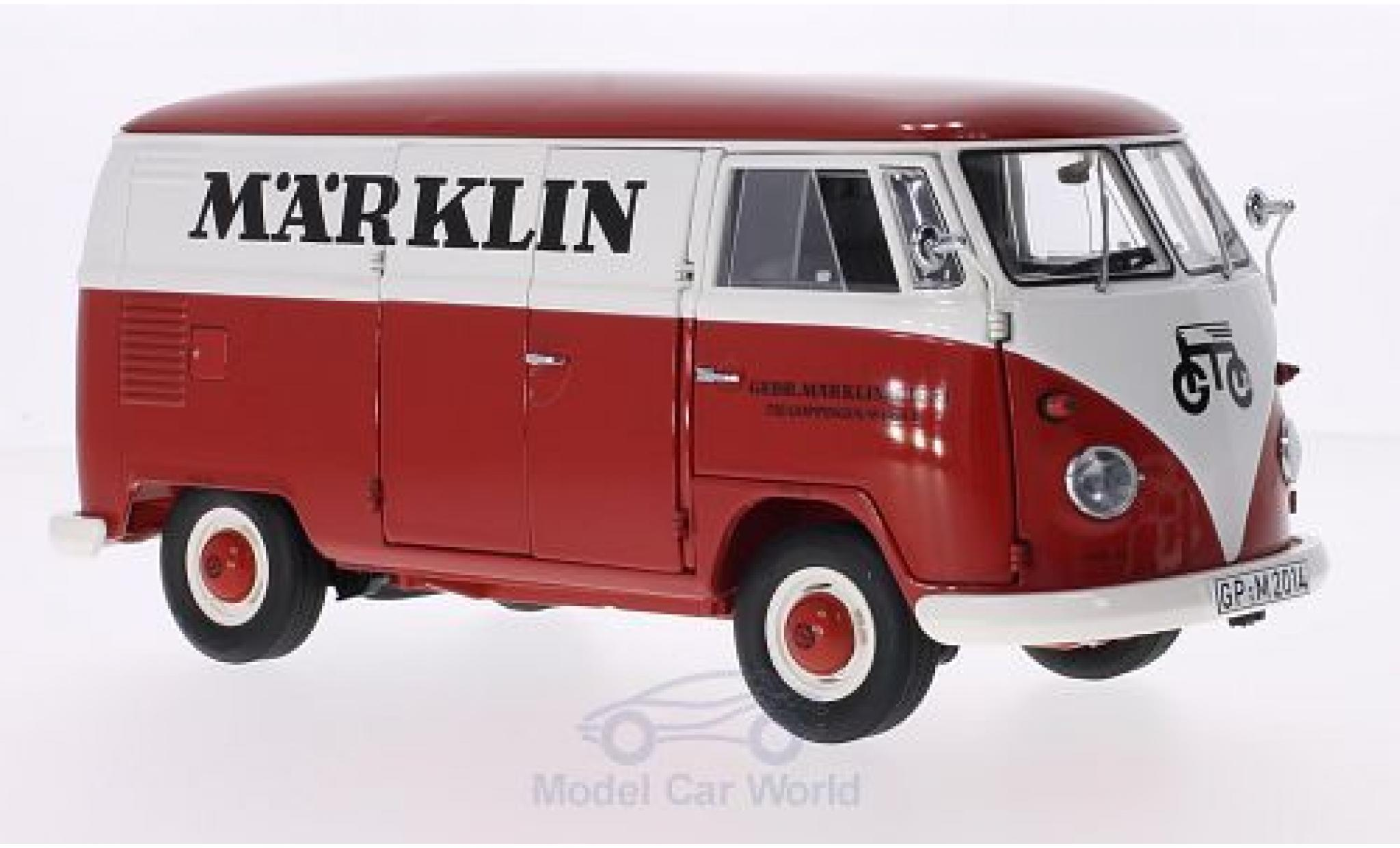 Volkswagen T1 A 1/18 Schuco Märklin 1959 Kasten