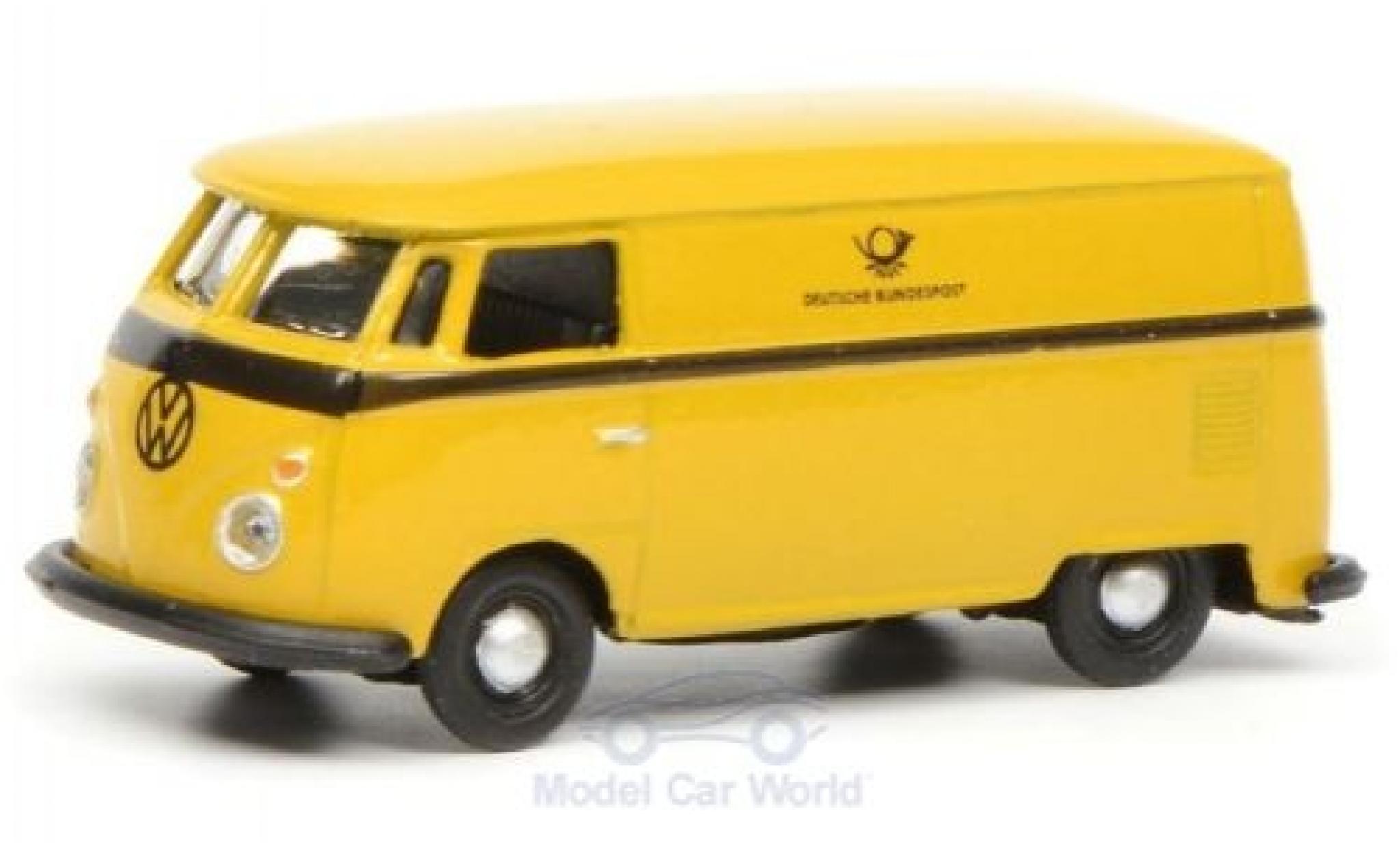 Volkswagen T1 1/87 Schuco c Deutsche Bundespost