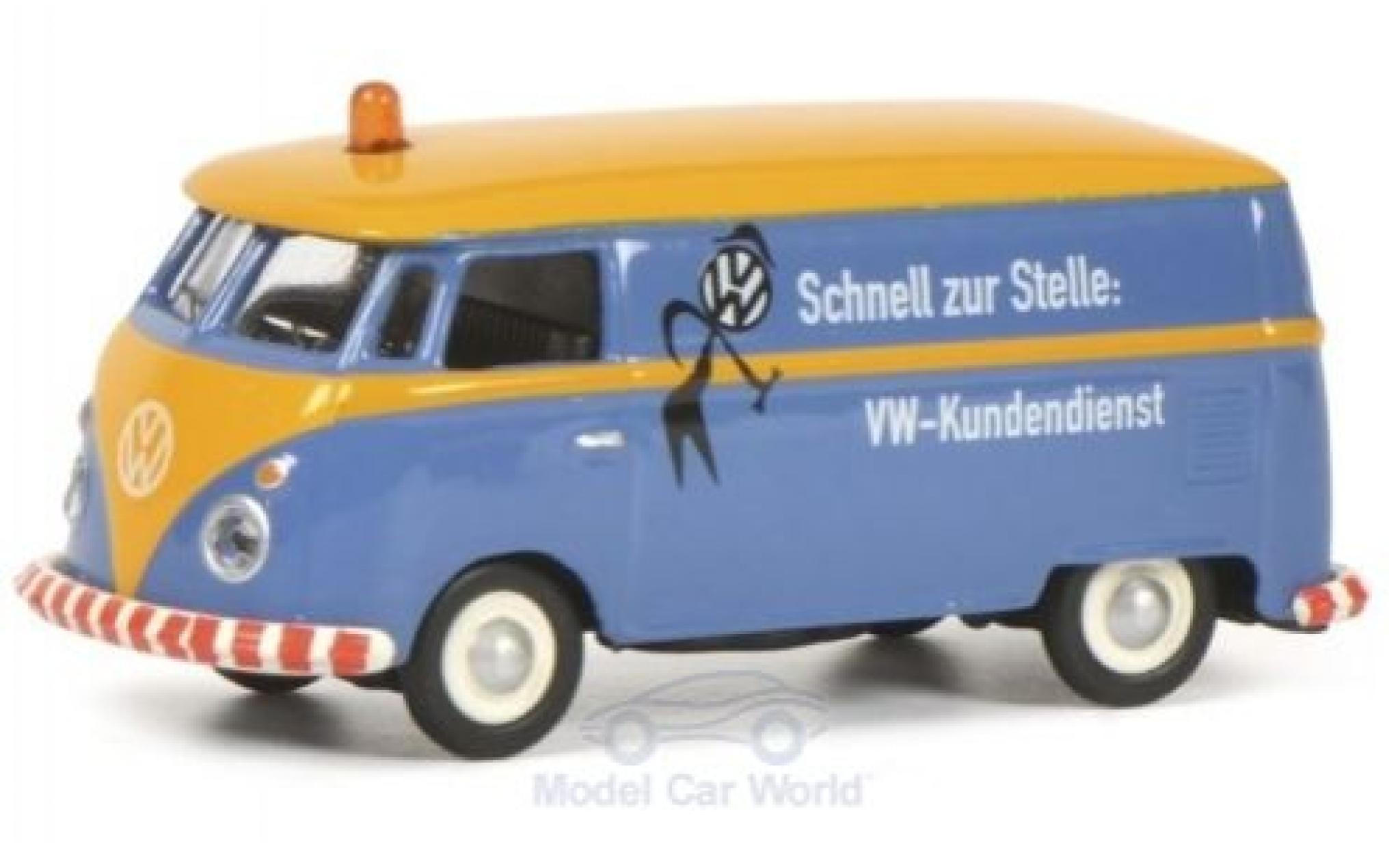 Volkswagen T1 1/87 Schuco c Kasten Kundendienst