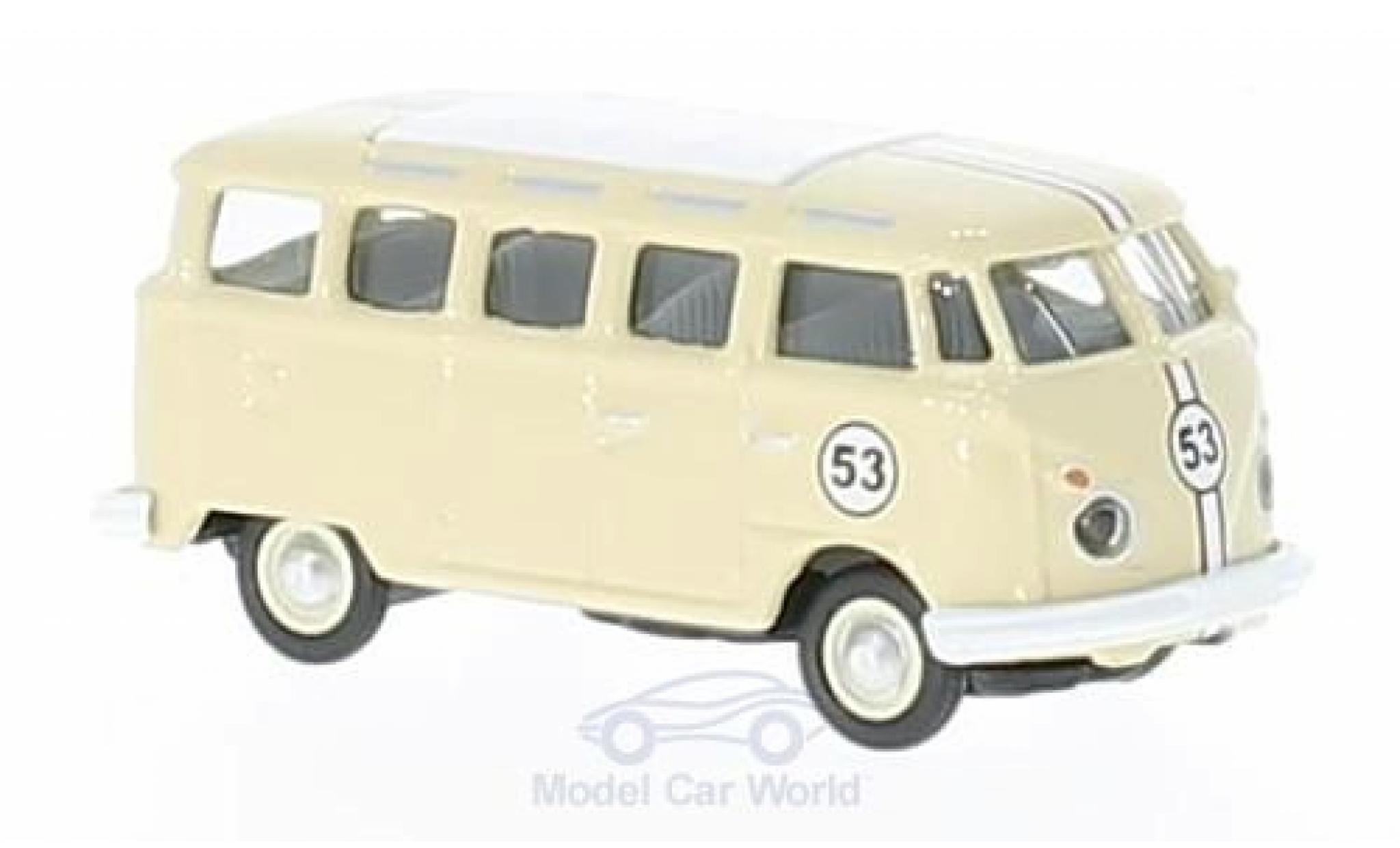 Volkswagen T1 B 1/87 Schuco c Samba beige No.53