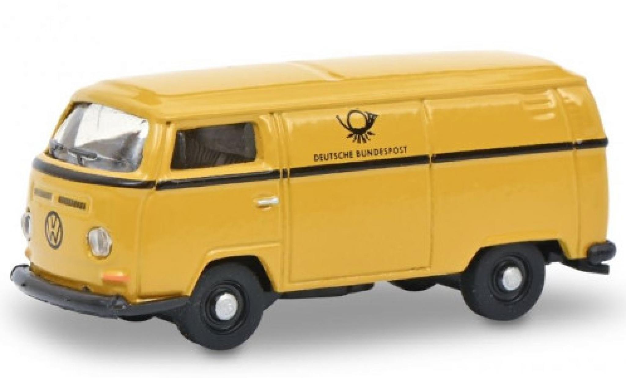 Volkswagen T2 1/87 Schuco a Kasten Deutsche Bundespost