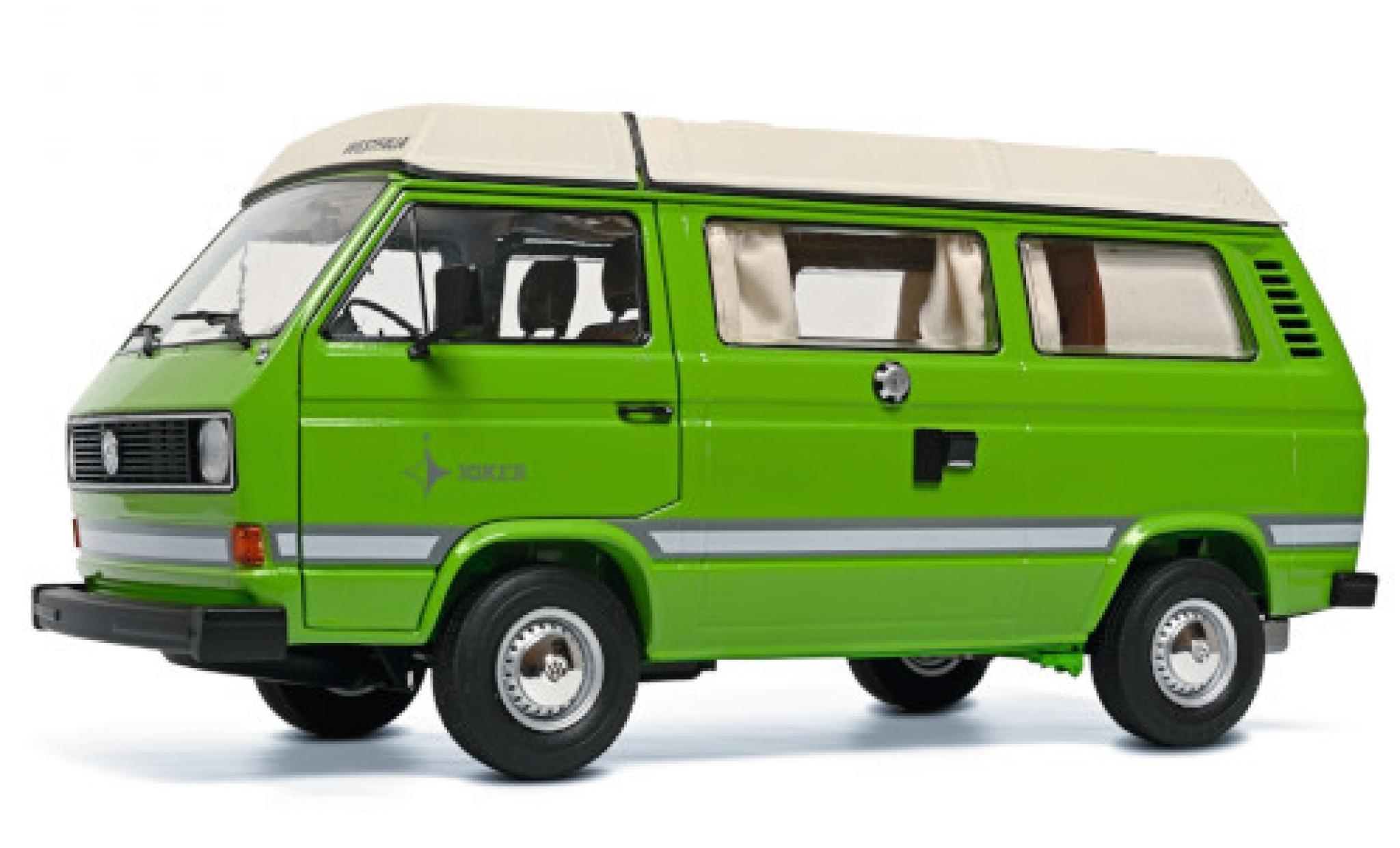 Volkswagen T3 1/18 Schuco a Westfalia Joker green/white