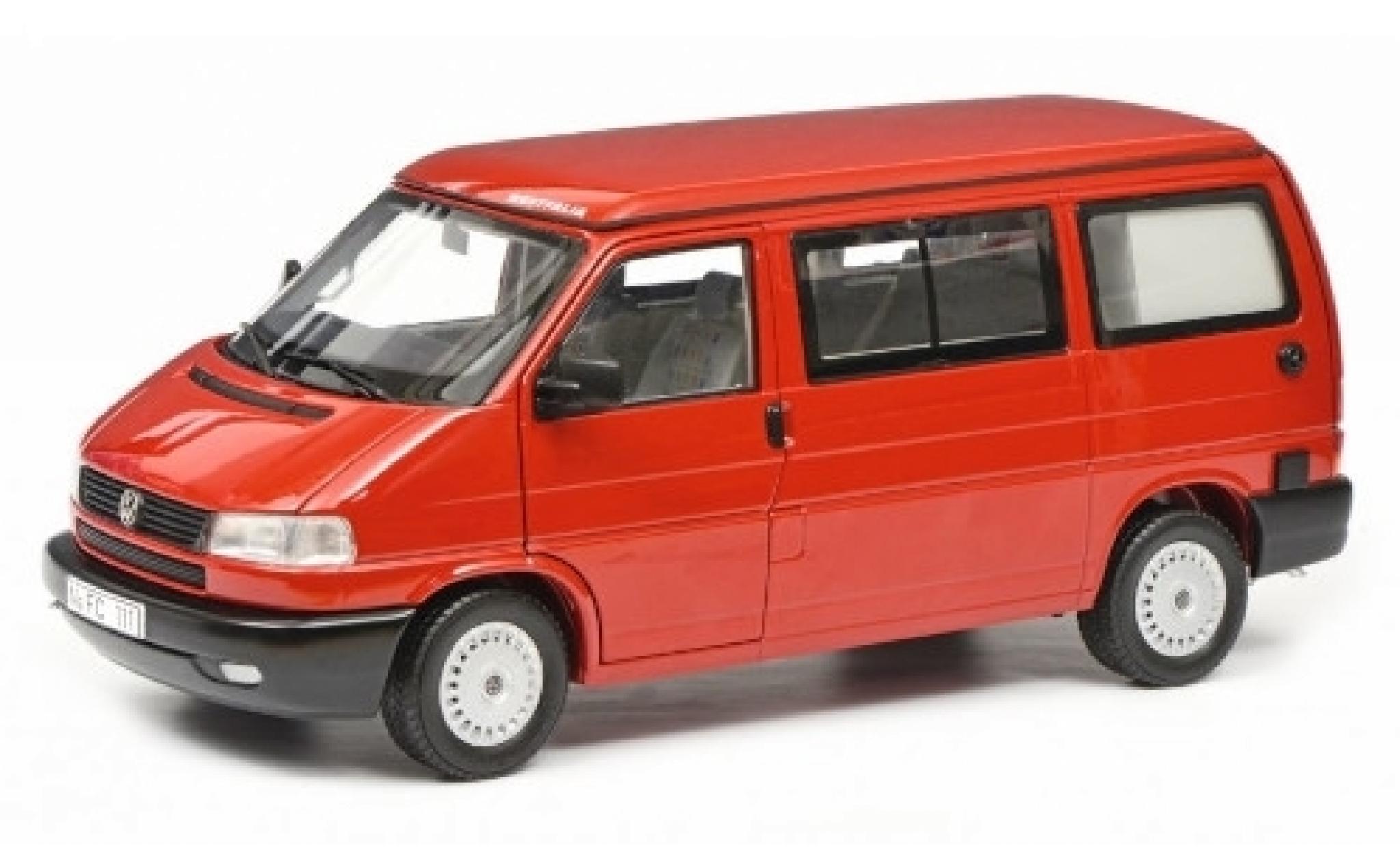 Volkswagen T4 1/18 Schuco b Westfalia Camper rouge