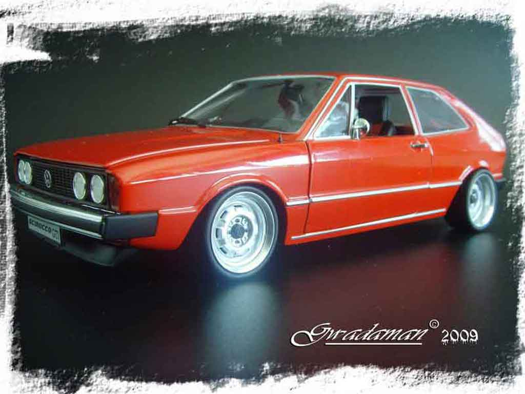 volkswagen scirocco gti rot auspuff supersprint revell modellauto 1 18 kaufen verkauf. Black Bedroom Furniture Sets. Home Design Ideas
