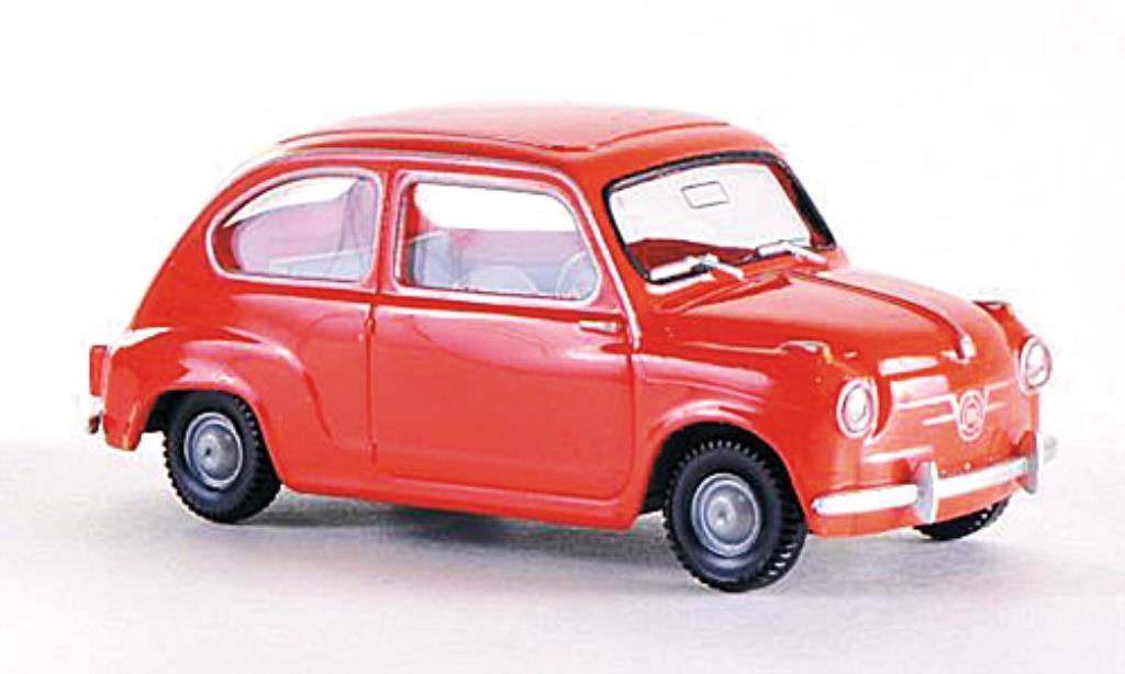 Seat 600 1/87 Wiking rouge-orange miniature