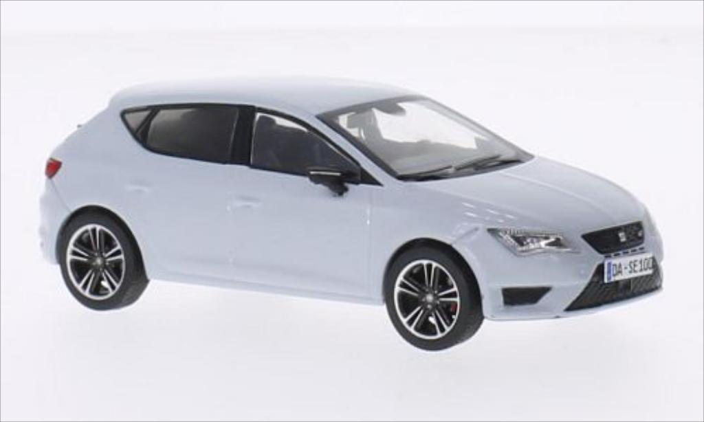 seat leon cupra 280 gray 2014 mcw diecast model car 1 43. Black Bedroom Furniture Sets. Home Design Ideas