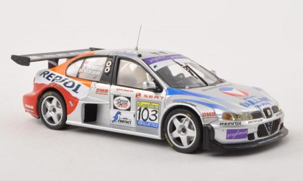 Seat Toledo 1/43 IXO GT No.103 Darre Motor Racing 24h Spa 2003 miniature