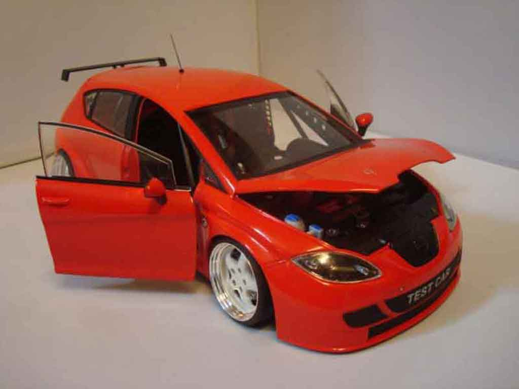 seat leon miniature wtcc rouge guiloy 1 18 voiture. Black Bedroom Furniture Sets. Home Design Ideas