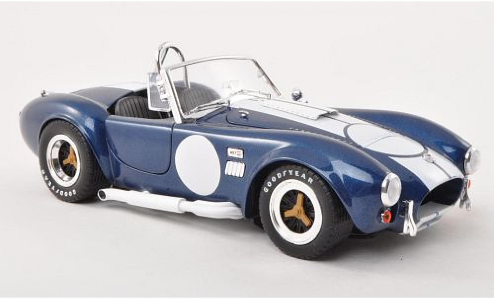 Shelby Cobra 1/18 Shelby Collectibles 427 S/C metallise bleue/blanche légende Series