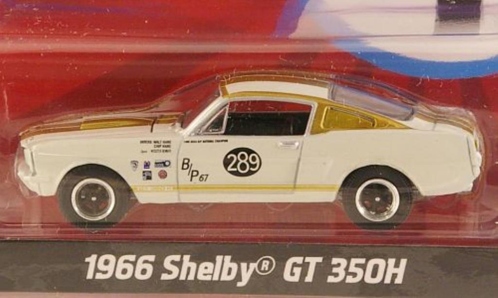 Shelby GT 1/64 Greenlight 350H No.289 W.Hane / C.Hane 1966 miniature