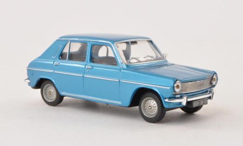 Simca 1100 1/43 Norev GLS bleu 1973 miniature