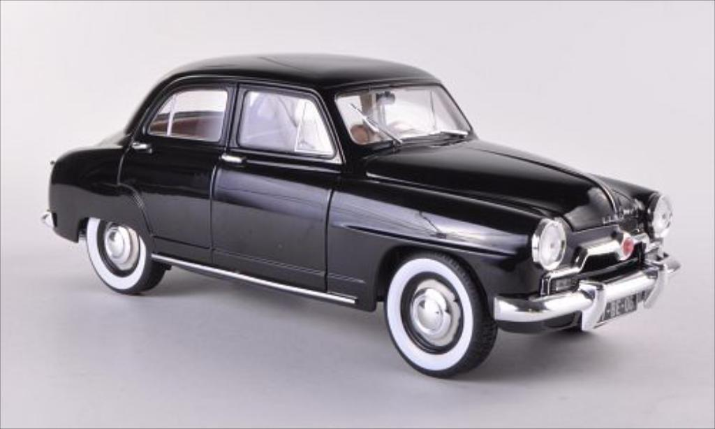 Simca Aronde 1/18 Norev black 1953 diecast model cars