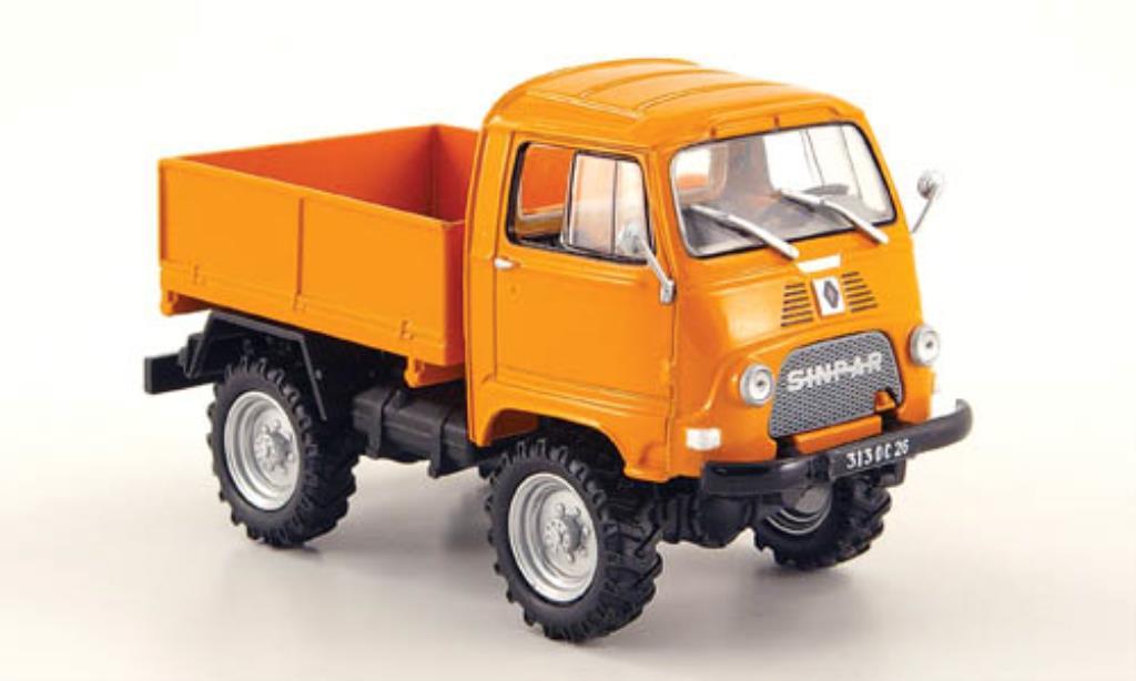 Sinpar Castor 1/43 Universal Hobbies 1200 D orange 1965 miniature