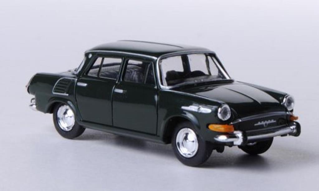 Skoda 1000 1/87 Herpa MB grun miniature