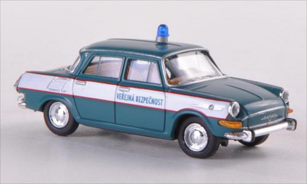 Skoda 1000 1/87 Herpa MB Verejna Bezpecnost (CZ) miniature