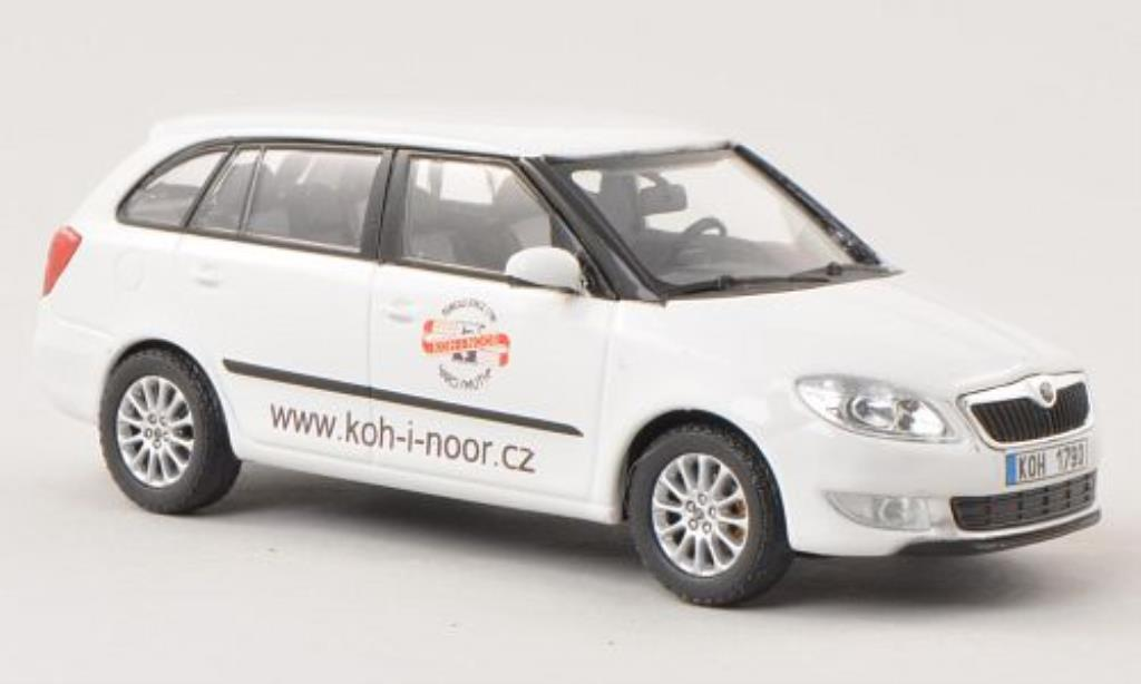 skoda fabia ii miniature combi koh i noor abrex 1 43 voiture. Black Bedroom Furniture Sets. Home Design Ideas